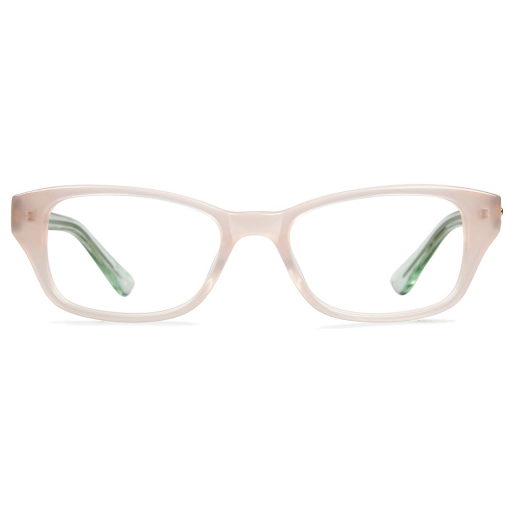 4e8a4eedfc1 Shop Cynthia Rowley Eyewear CR5019 No. 91 Blush Round Plastic Eyeglasses -  Free Shipping Today - Overstock.com - 11207138