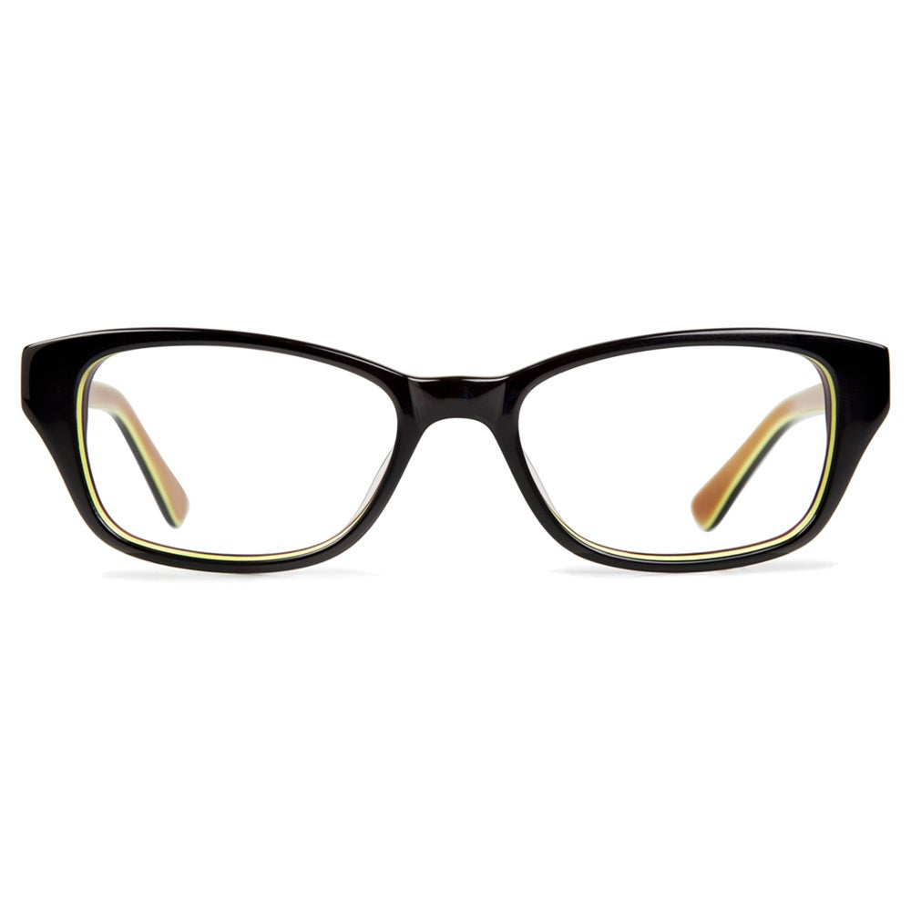 fced63a45f4 Shop Cynthia Rowley Eyewear CR5019 No. 91 Black Round Plastic Eyeglasses -  Free Shipping Today - Overstock - 11207151