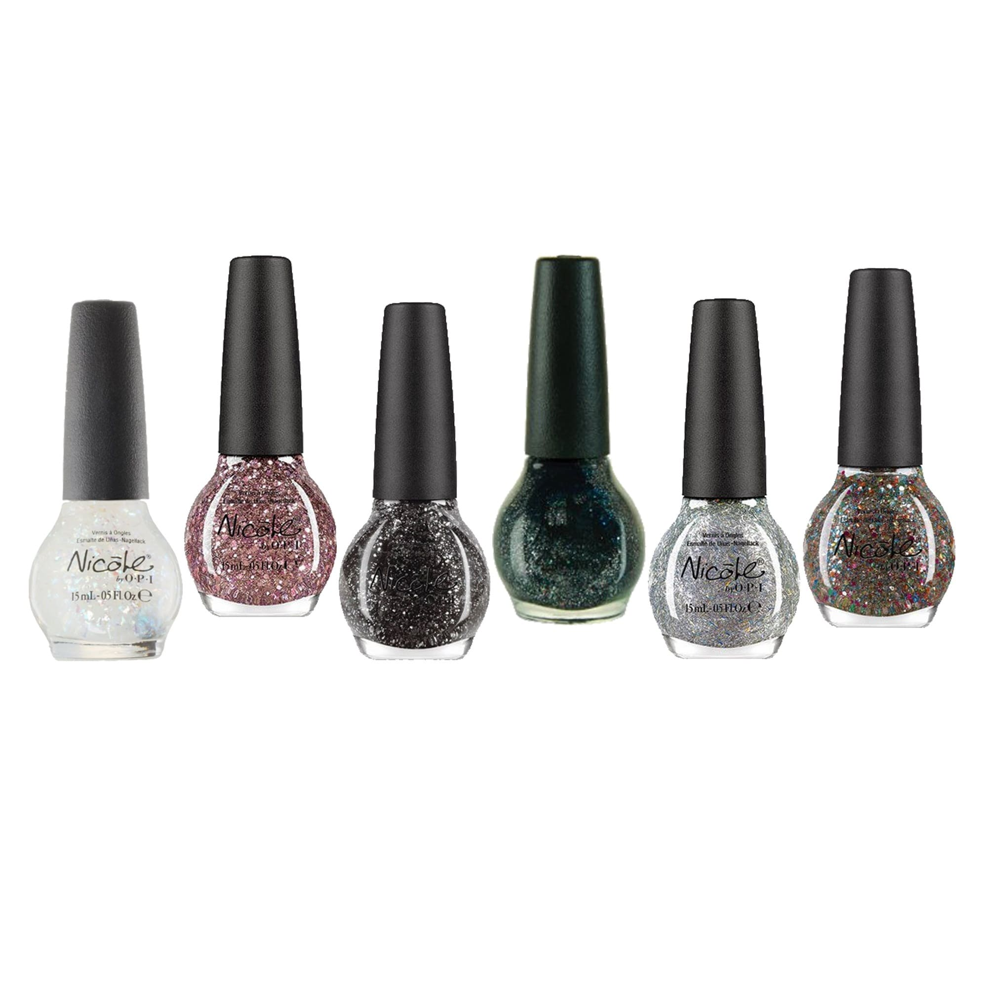 Nicole By Opi Glitter Nail Polish 6 Piece Set Free Shipping On Orders Over 45 11211632