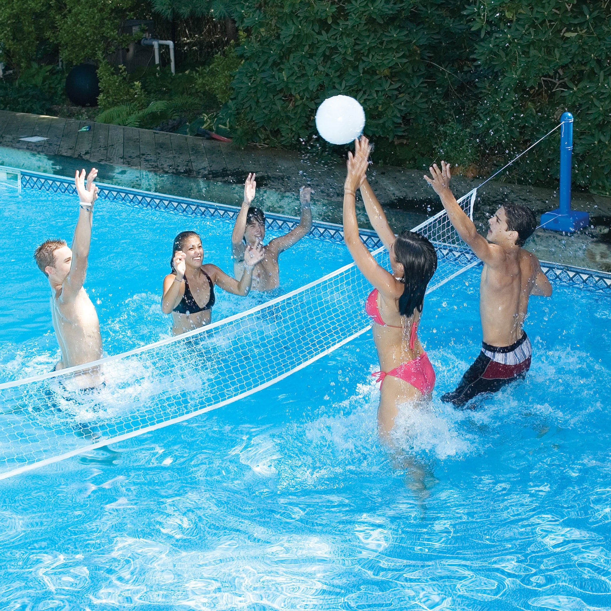 Swimline Cross Pool Volleyball For In Ground Swimming Pools Free Shipping Today 11321322
