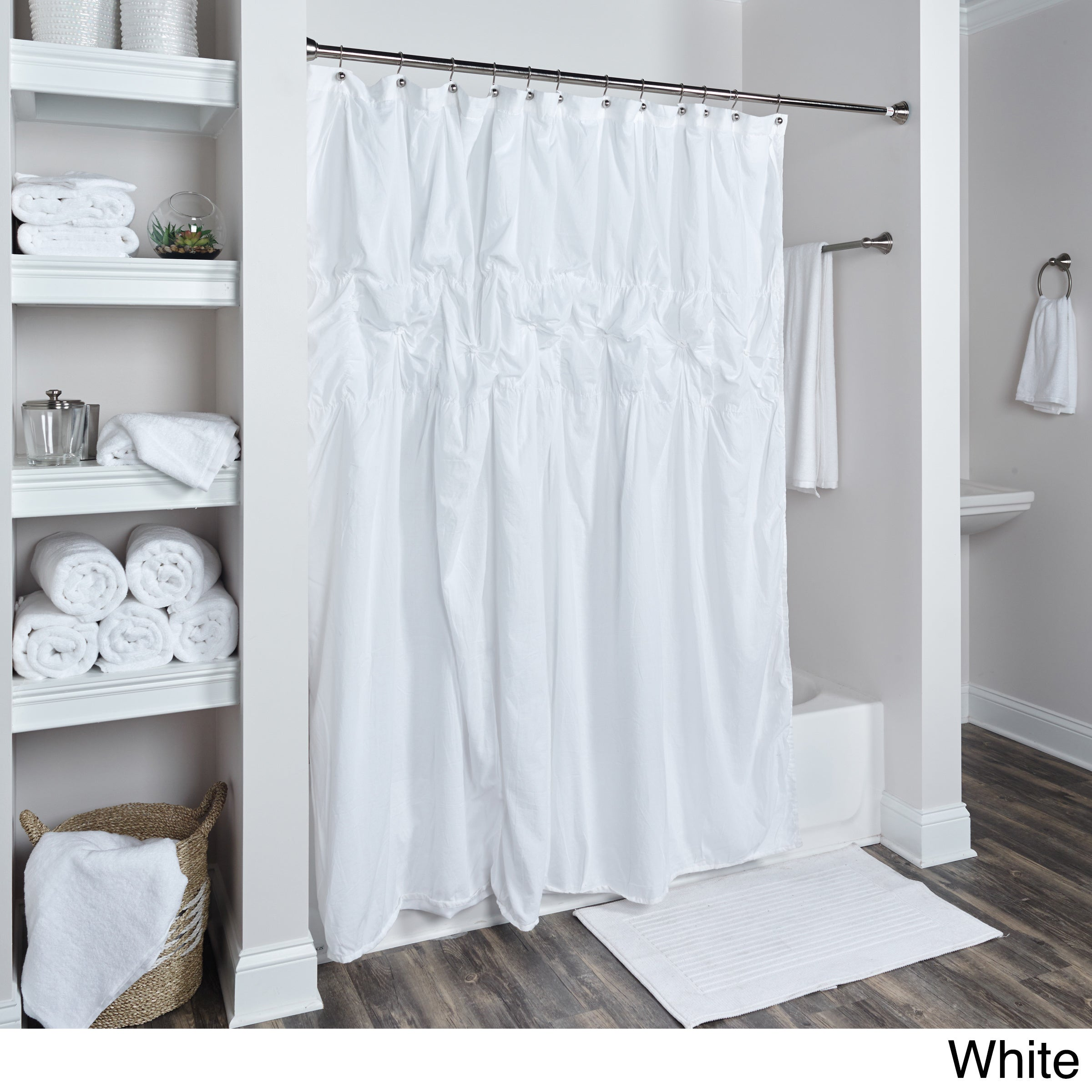 Arden Loft Torsadés Collection Shower Curtain On Free Shipping Today 11321483