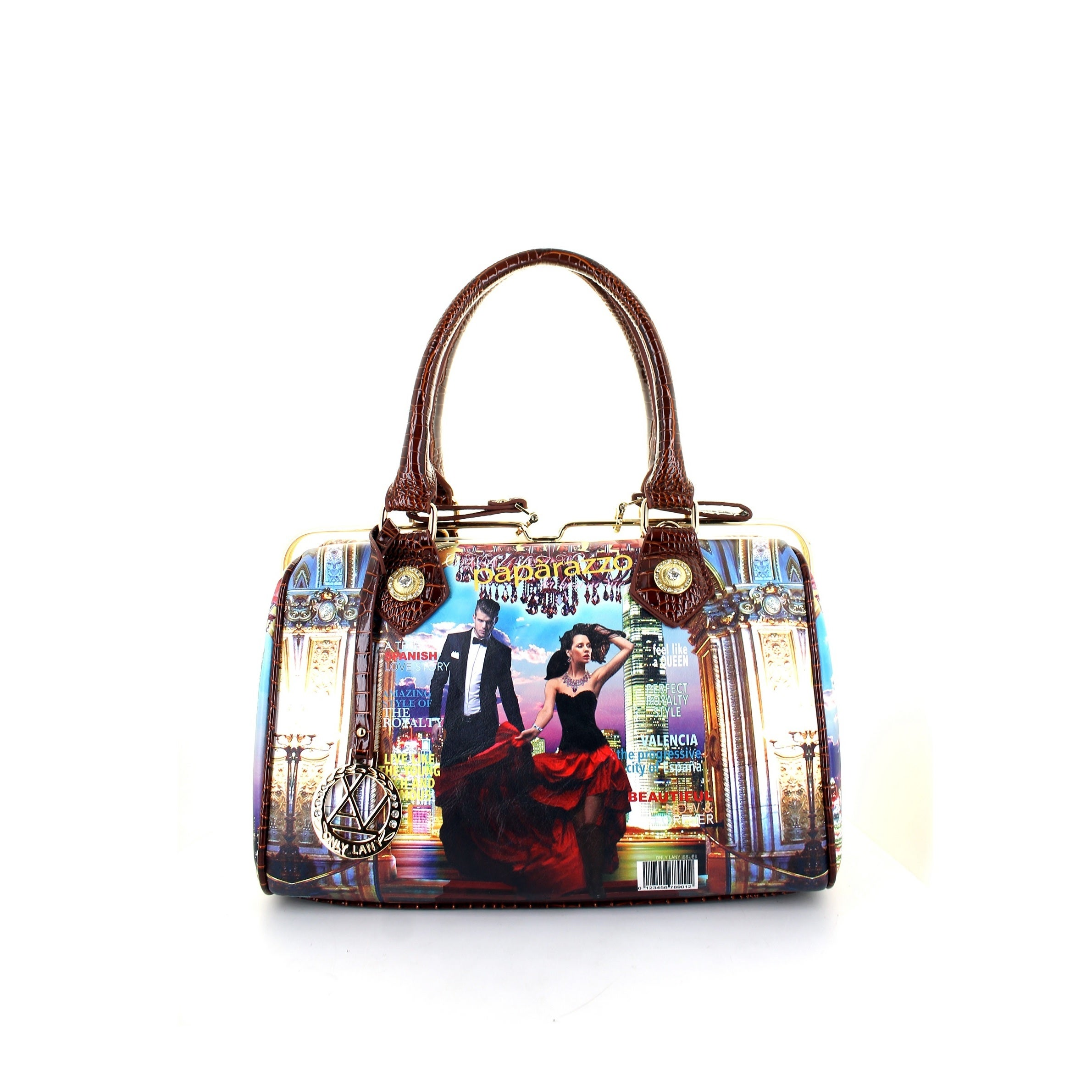 Shop LANY  Valencia  Frame Boston Bag - Free Shipping On Orders Over  45 -  Overstock.com - 11321578 ebd8110f0c23c