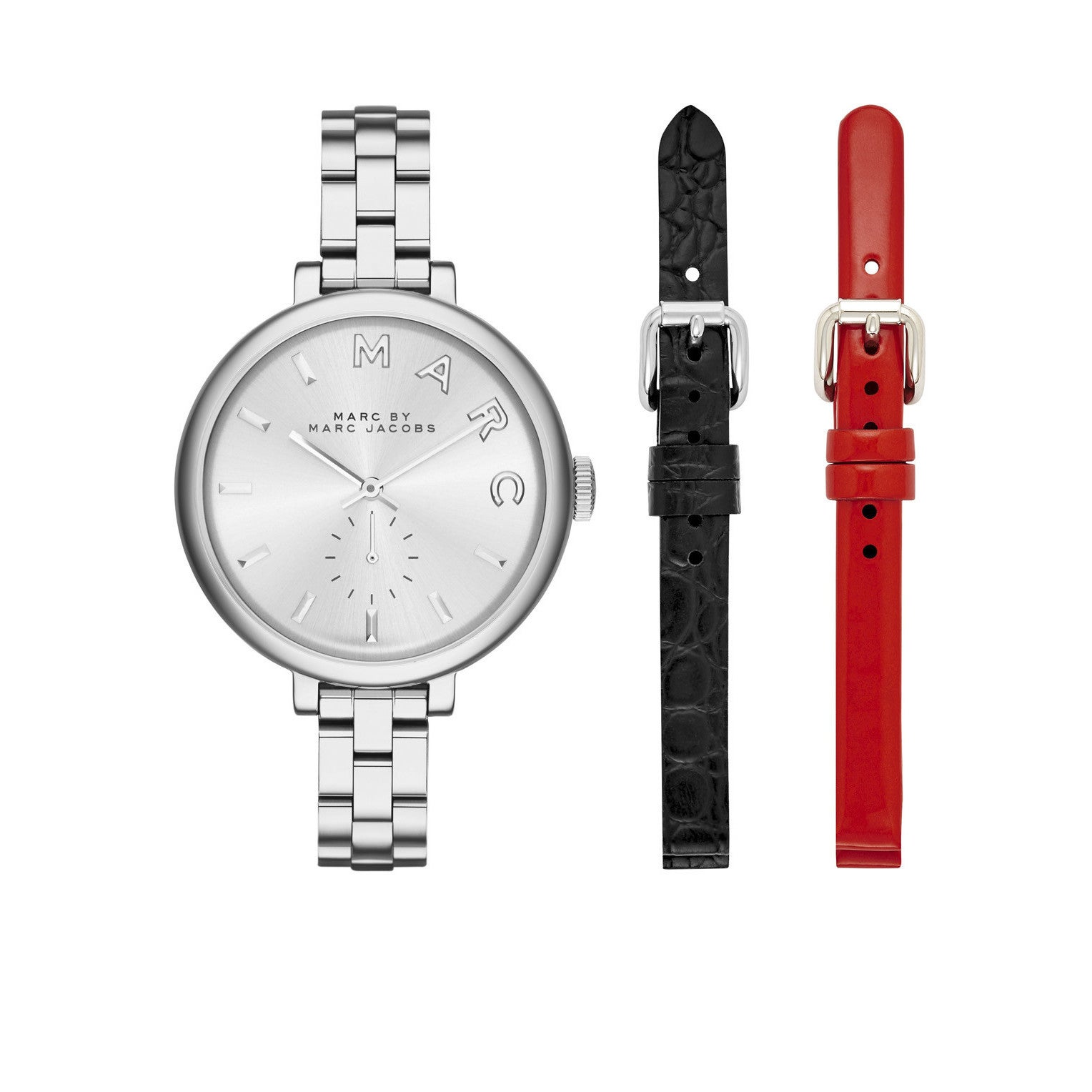 0539587e50d1a Shop Marc By Marc Jacobs Women's MJ9722 Sally Silver Dial Stainless Steel  Bracelet Watch - Free Shipping Today - Overstock - 11324321