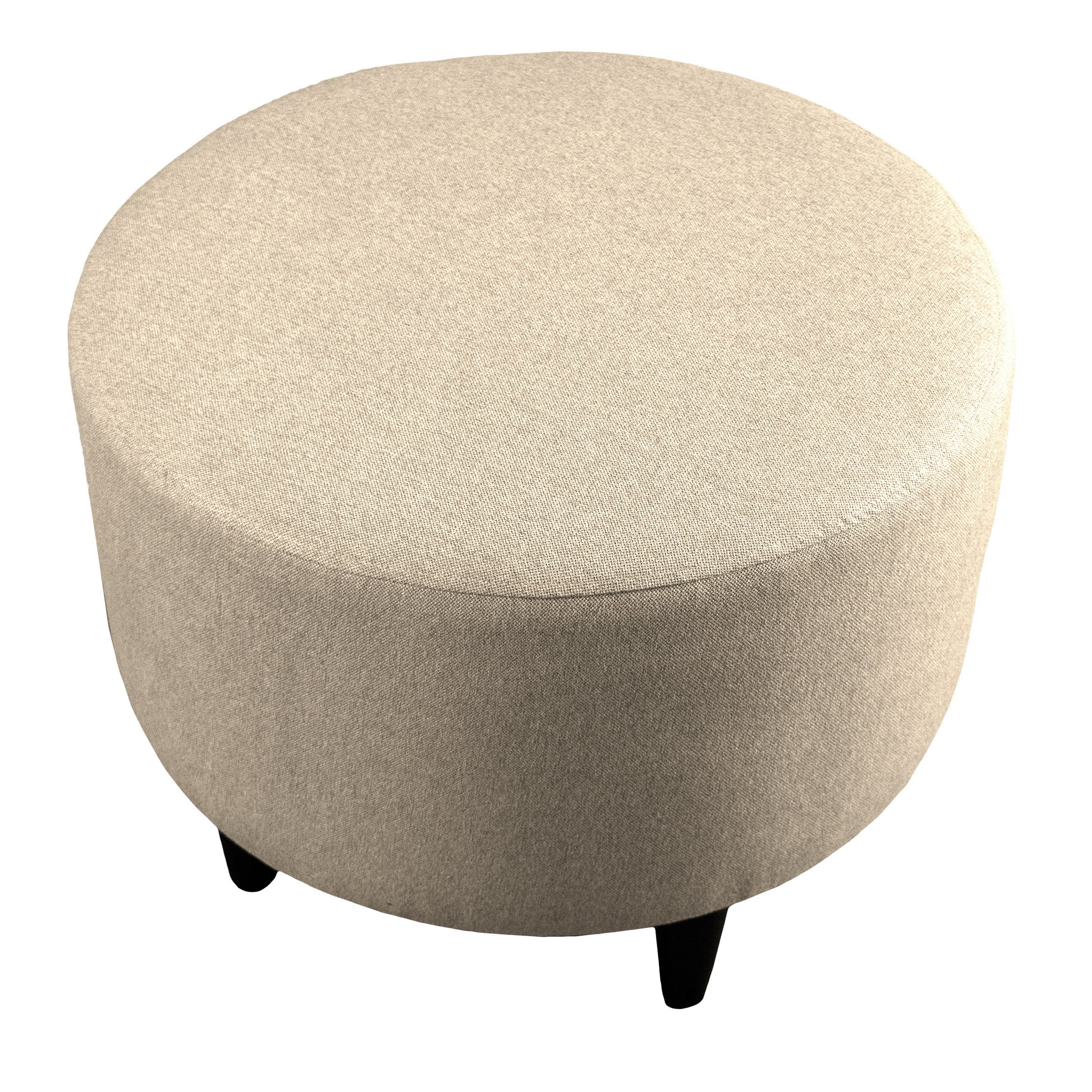 Shop mjl furniture sophia dawson7 round upholstered ottoman on sale free shipping today overstock com 11324434