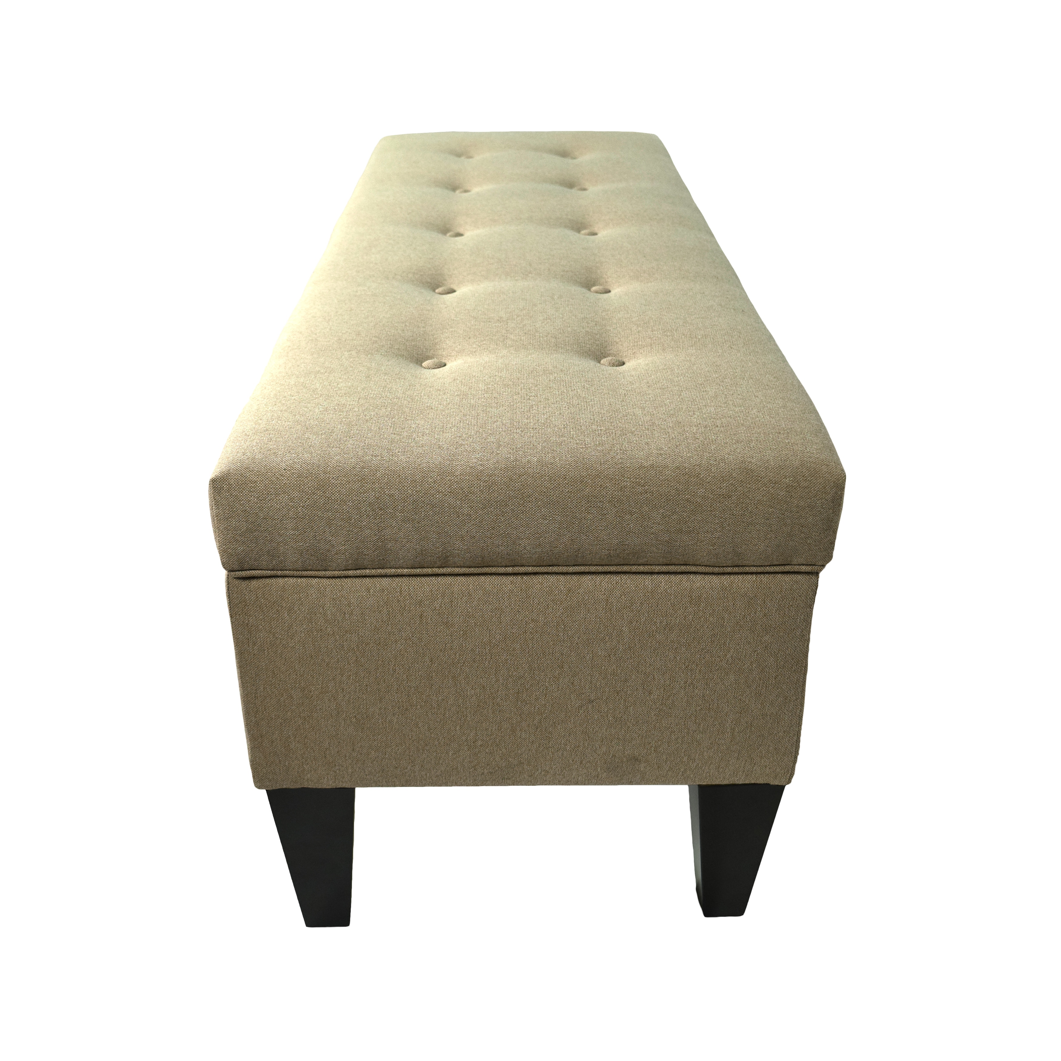 Shop MJL Furniture Brooke 10 Button Tufted Dawson7 Long Storage Bench Ottoman - On Sale - Free Shipping Today - Overstock.com - 11324477  sc 1 st  Overstock.com & Shop MJL Furniture Brooke 10 Button Tufted Dawson7 Long Storage ...