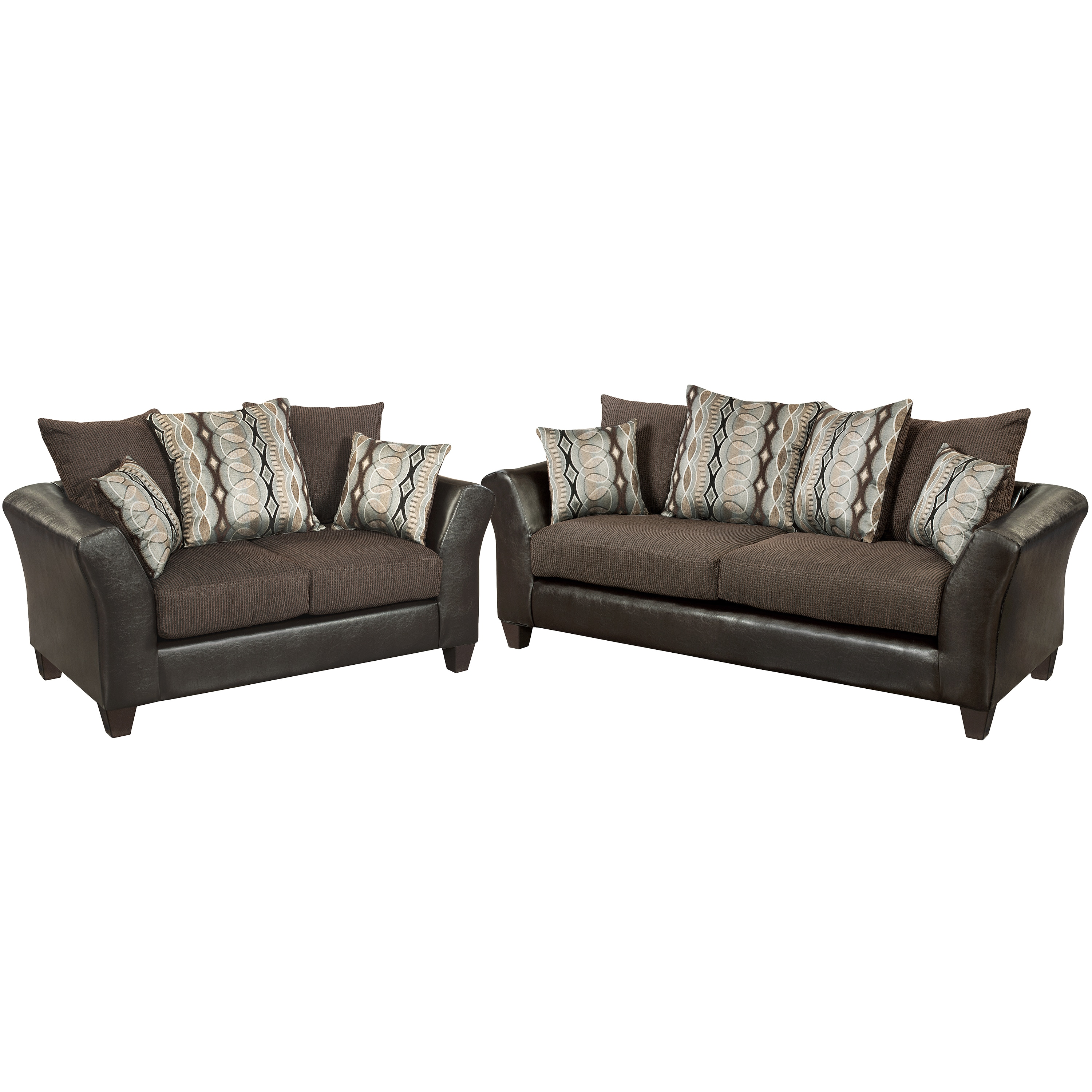 Riverstone Rip Sable Chenille Living Room Set Free Shipping Today 11324631