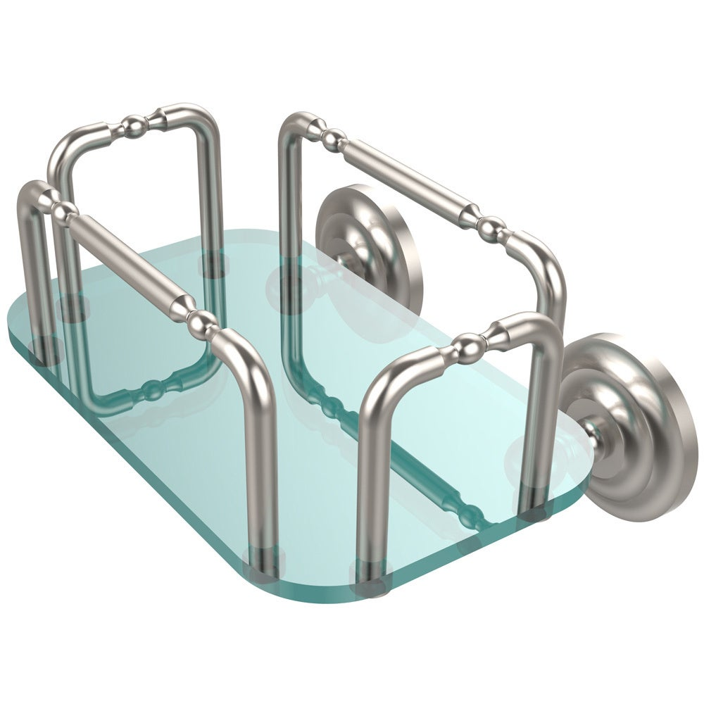 Allied Brass Que New Collection Wall Mounted Guest Towel Holder ...