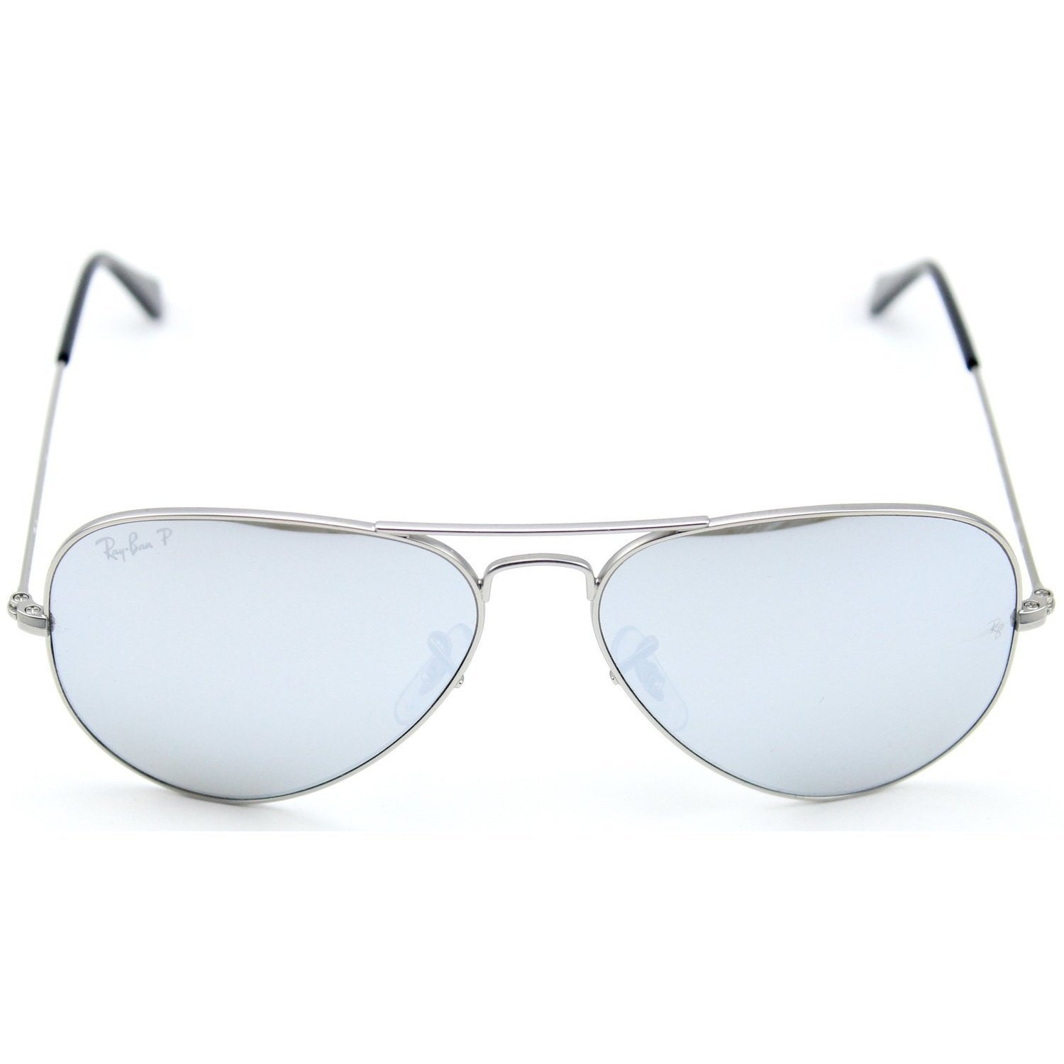 79725caf56 Shop Ray-Ban RB3025 019 W3 Aviator Mirror Silver Frame Polarized Grey 58mm  Lens Sunglasses - Free Shipping Today - Overstock - 11325233