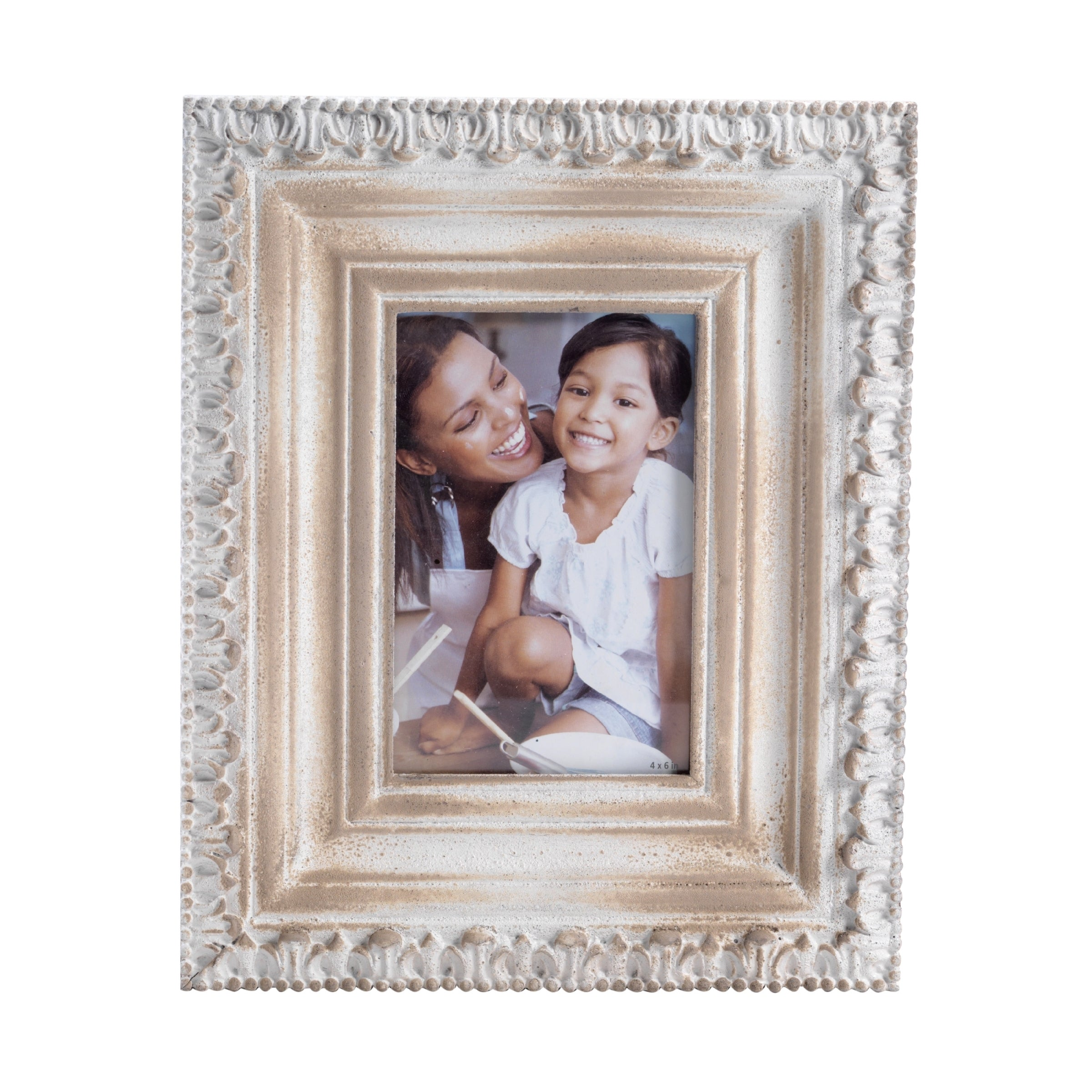 1967fed4a556 Shop Bombay Distressed Beige Wood Frame (4 x 6) - Free Shipping On Orders  Over  45 - Overstock - 11325495