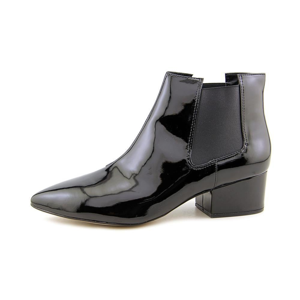 f455c259e0f Shop French Connection Women's 'Ronan' Patent Leather Boots - Free Shipping  Today - Overstock - 11332760