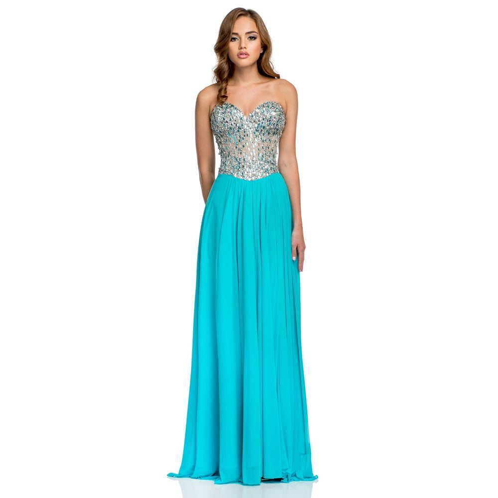Shop Terani Couture Women\'s Sweetheart Top Prom Dress - Free ...
