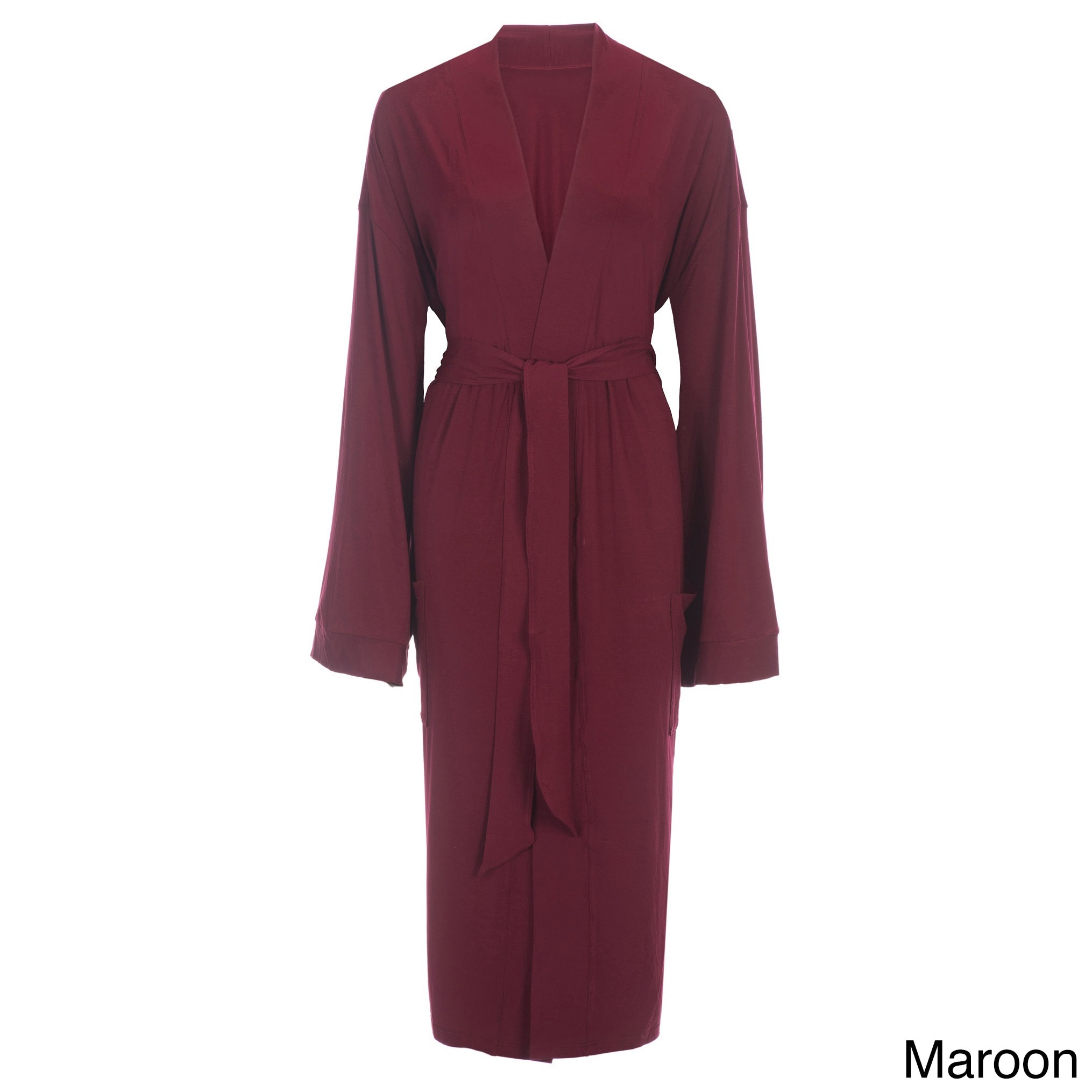 Shop Rayon from Bamboo Viscose Robe - On Sale - Free Shipping Today -  Overstock - 11332929 cc5189099