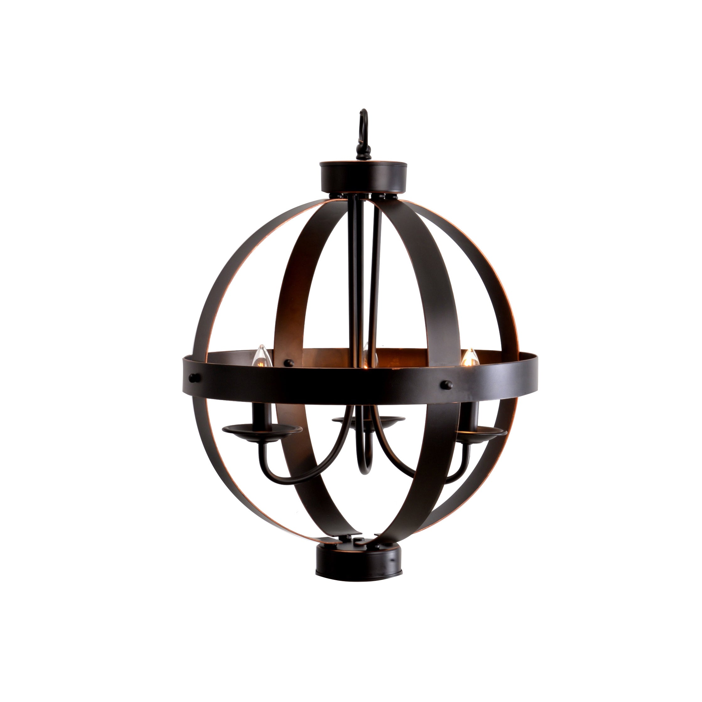 shades chandelier orb products light pendant bronze structural of