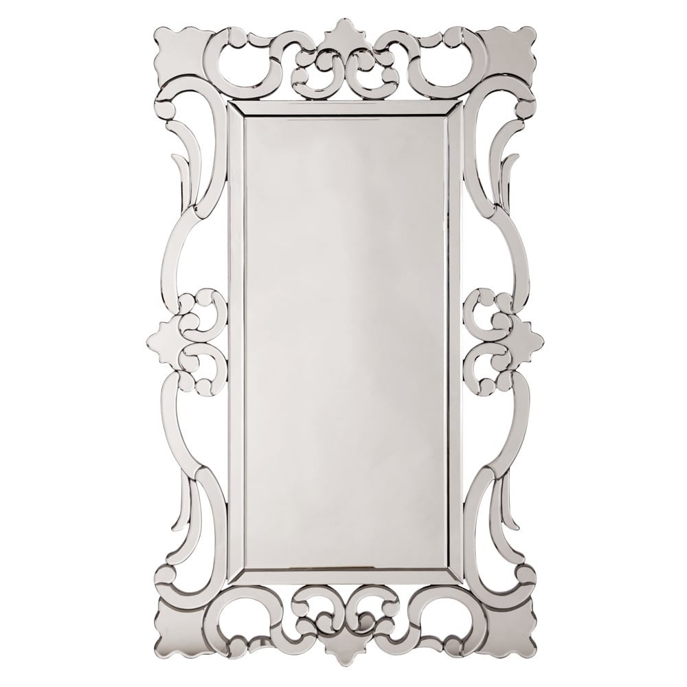 Shop Rebecca Mirrored Framed Mirror - Free Shipping Today ...