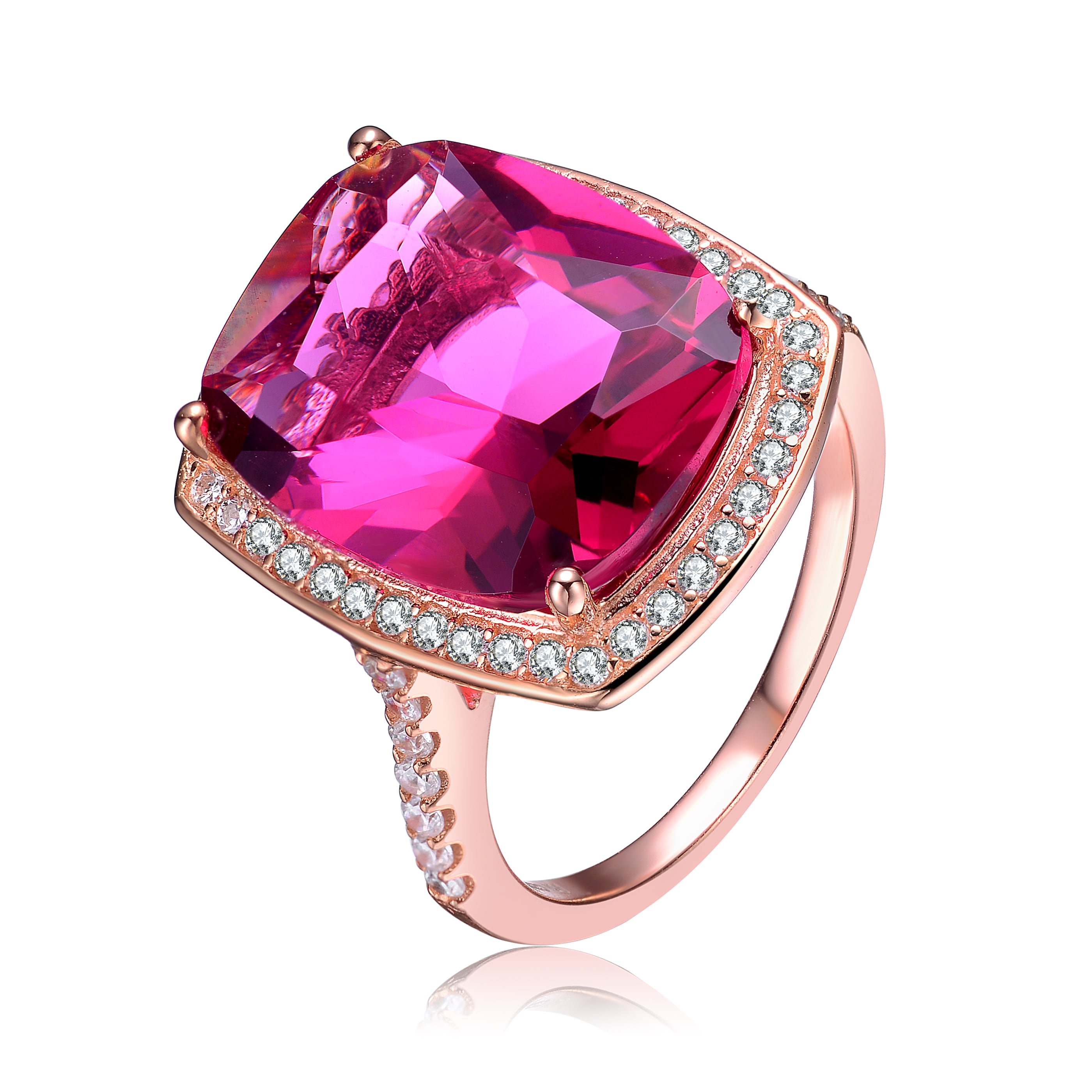 Collette Z Sterling Silver Faux Opal Statement Ring - Free Shipping ...