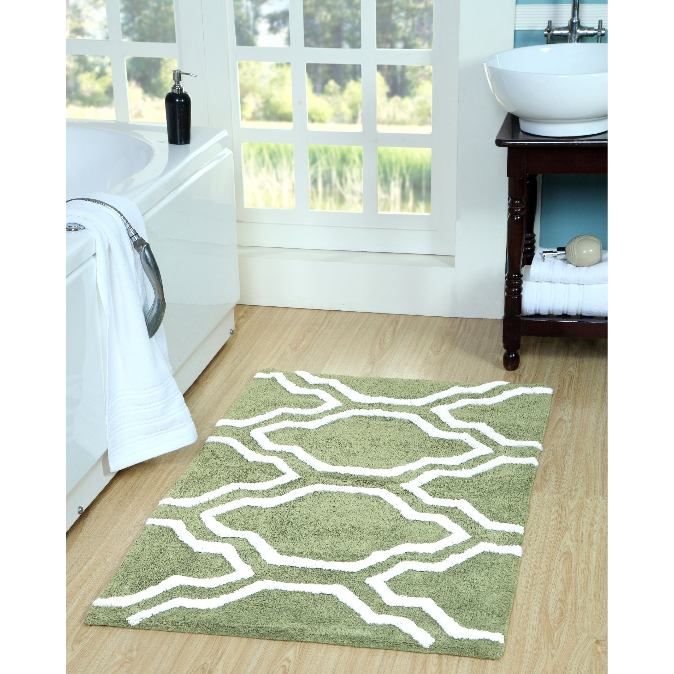 rugs this pattern the features beautiful material a trellis pin dorm pop of with geometric saleya stylish and rug woven color area shapes turquoise add home to your microfiber