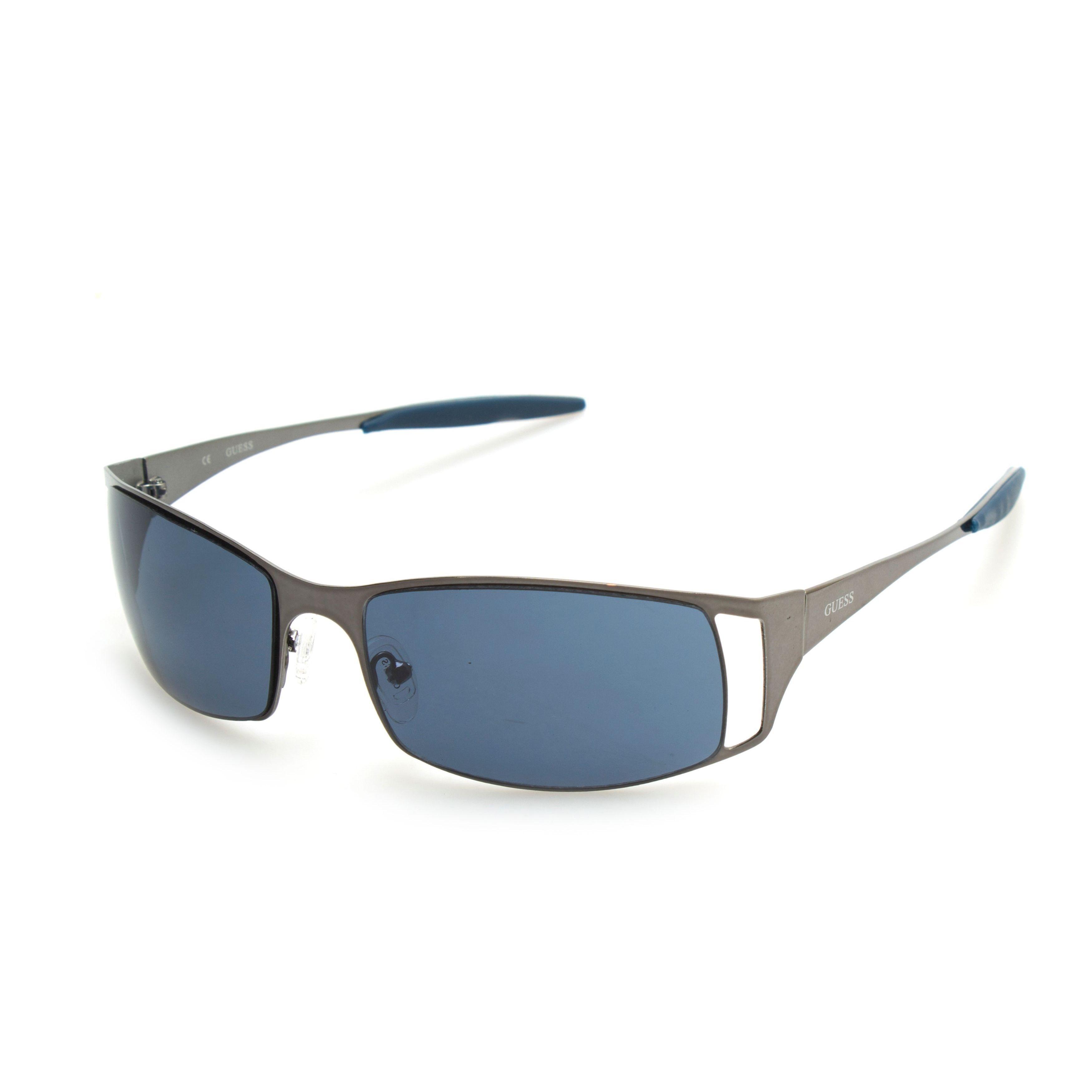 c2005fc770b Shop GUESS GU6248 Gunmetal Metal Rectangular Frame Men s Sunglasses - Free  Shipping On Orders Over  45 - Overstock - 11353036