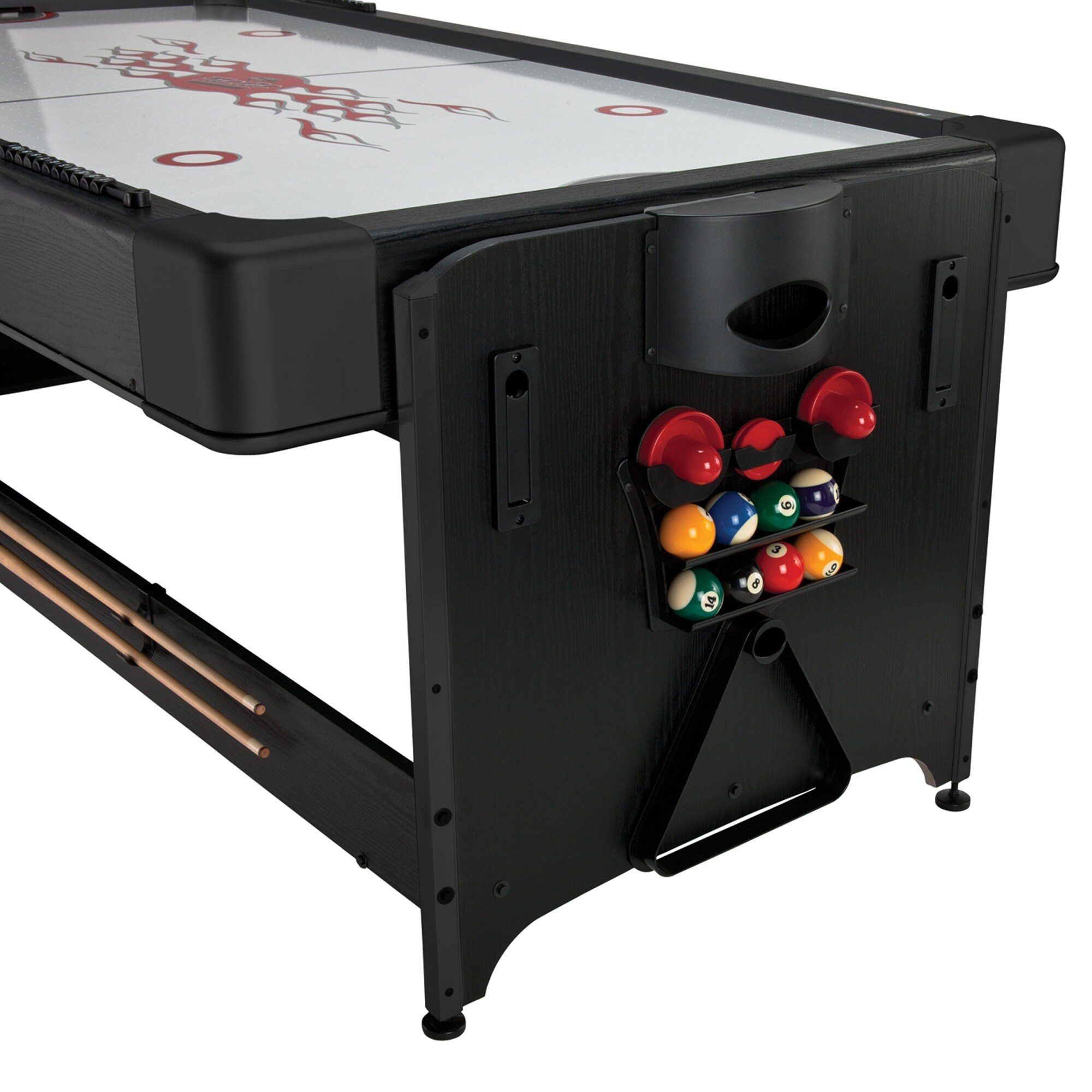 Amazing Fat Cat Air Hockey Table #19 - Fat Cat 64-1010 Original 2-in-1 7-foot Pockey Game Table (Billiards And Air  Hockey) - Black - Free Shipping Today - Overstock - 18326519