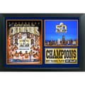 Super Bowl 50 Champions Denver Broncos 12 x 18 Photo Stat Frame