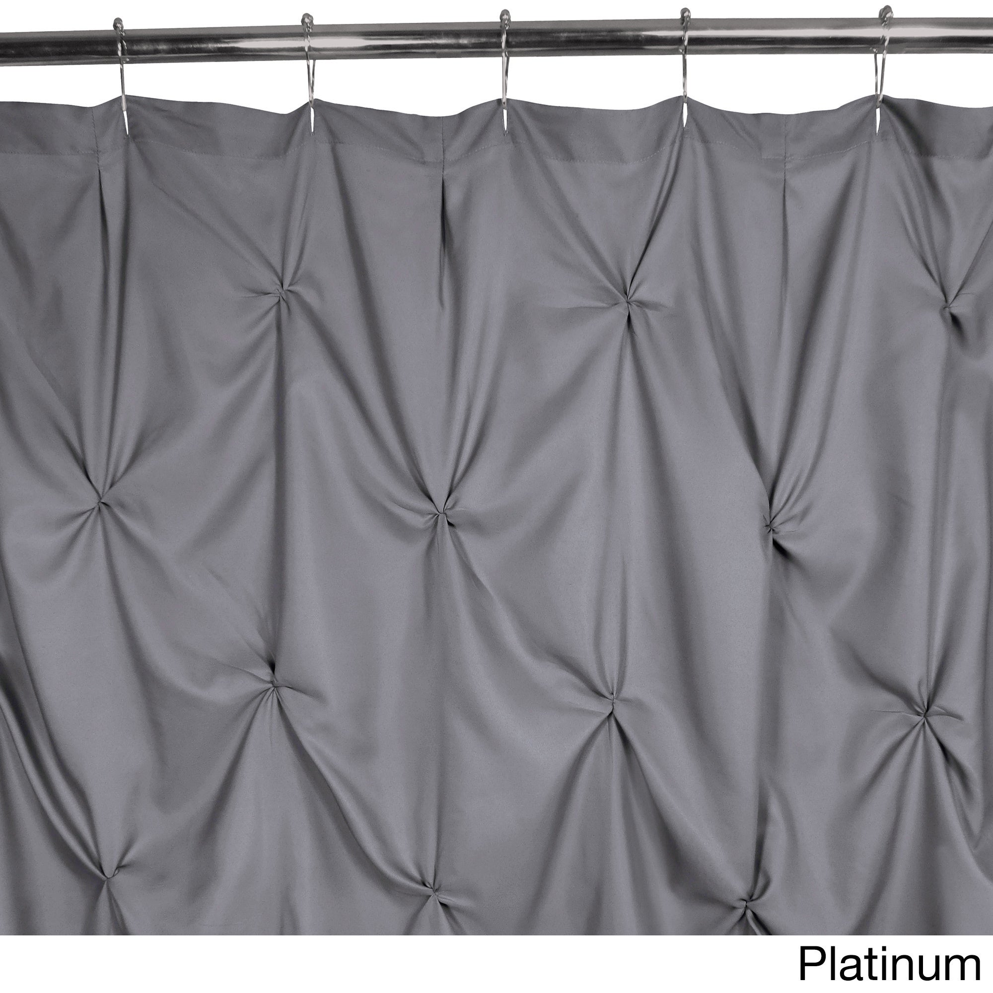 Shop Park B Smith Pouf Watershed Shower Curtain