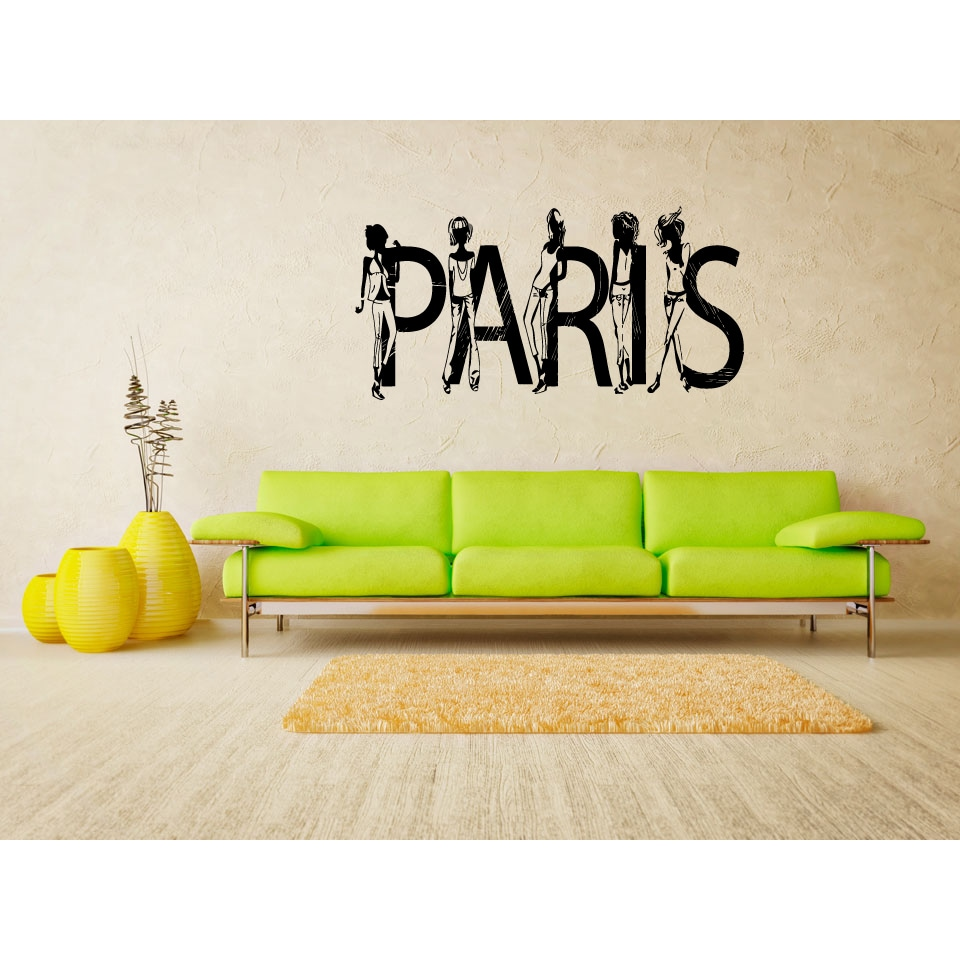 Fine Paris Decals Wall Art Picture Collection - All About Wallart ...