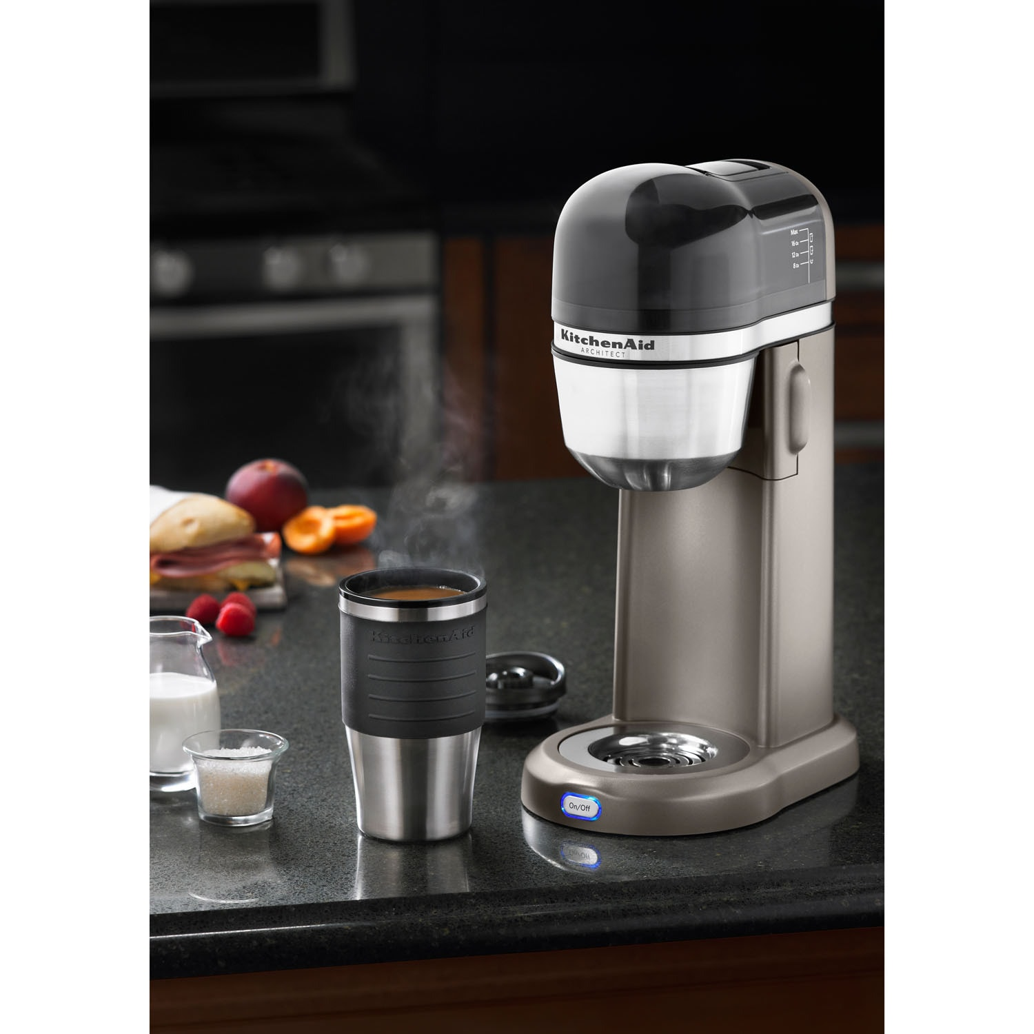 Shop Kitchenaid Kcm0402acs 4 Cup Personal Coffee Maker With