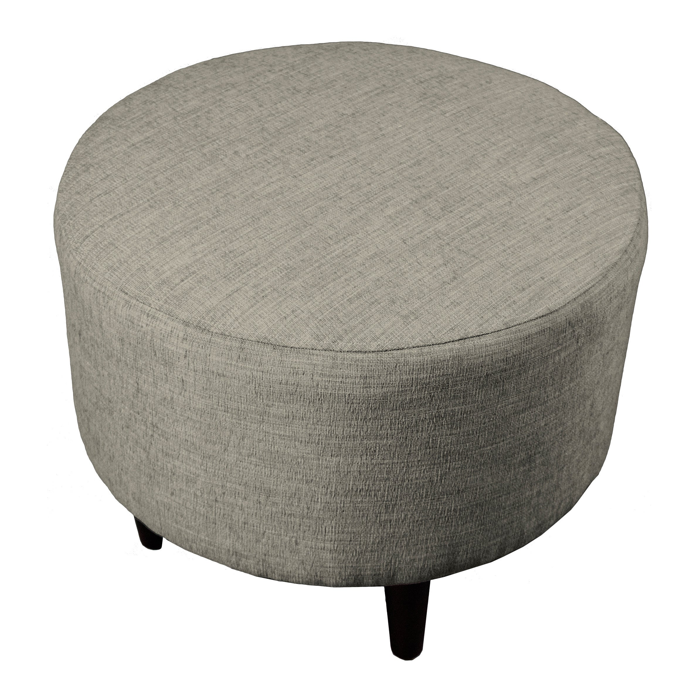 Shop mjl furniture sophia lucky round upholstered ottoman free shipping today overstock com 11381639