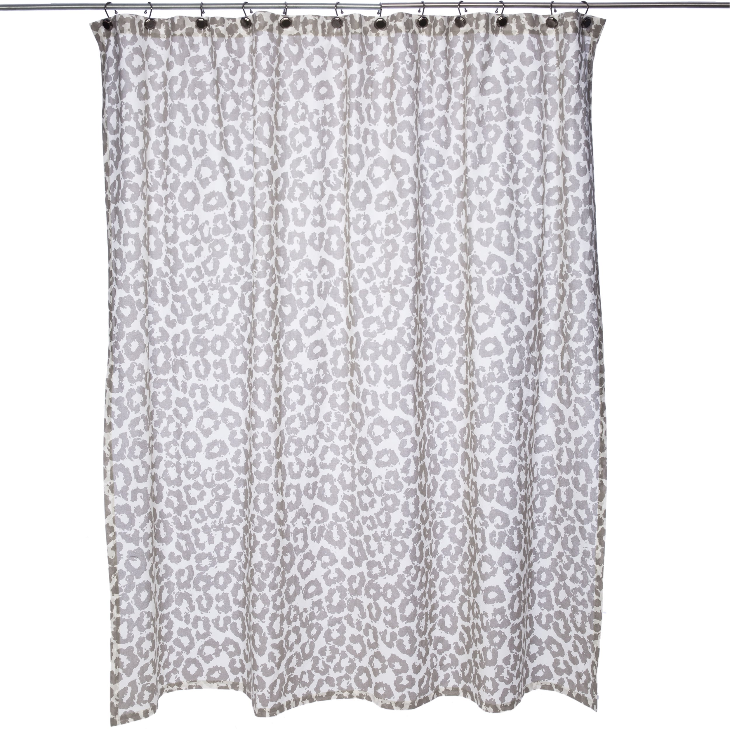 curtain gray wills floral wayfair run reviews shower bed pdx latitude bath