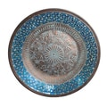 Casa Cortes Handcrafted Metal Mosaic Wall Platter