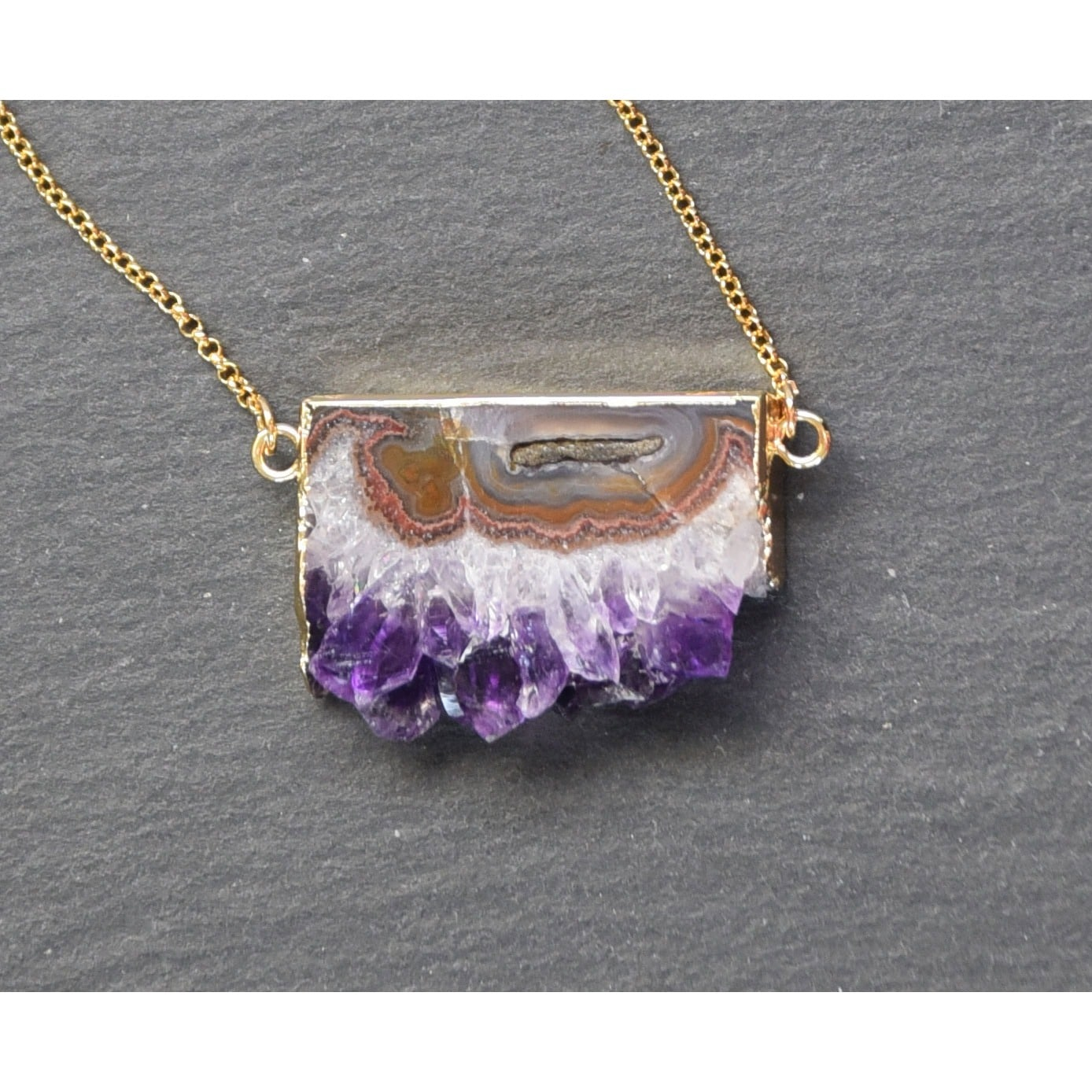 shop lore amethyst raw pendant fable