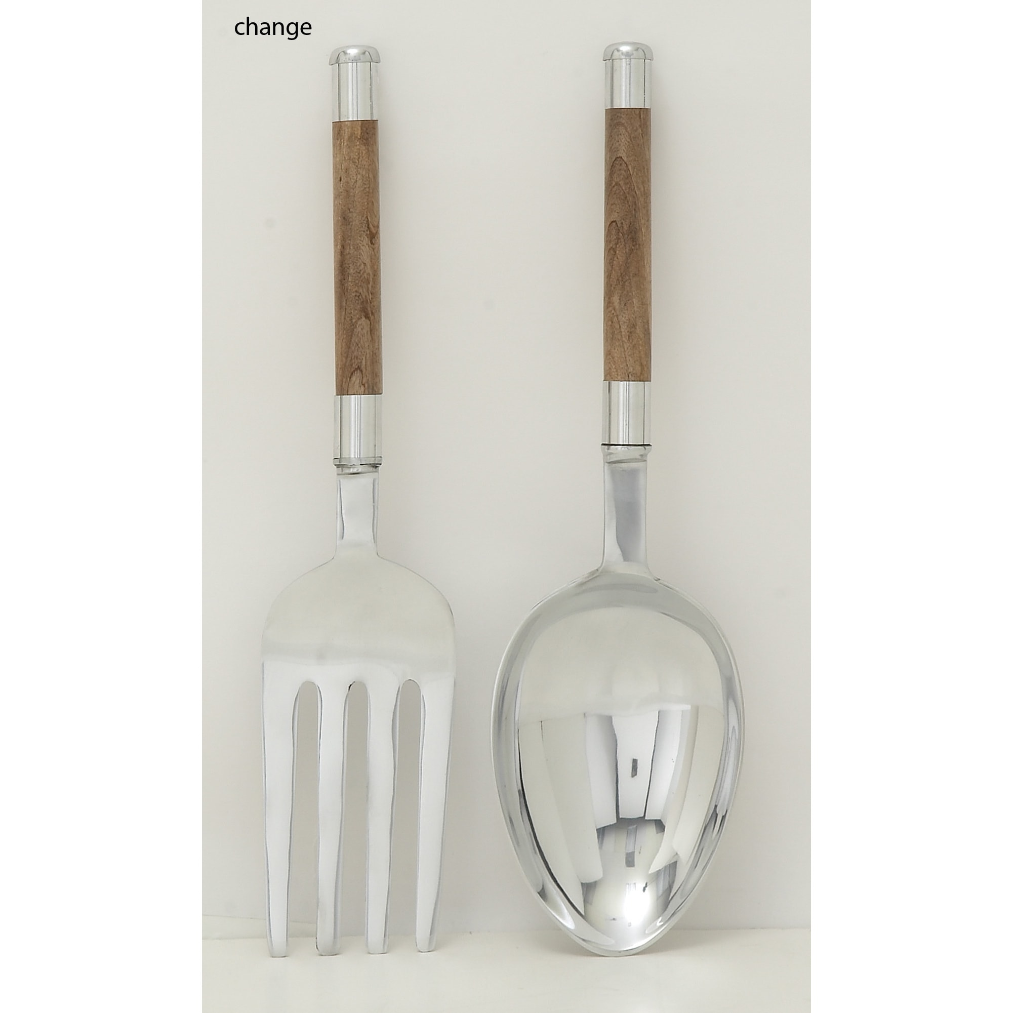 Shop aluminum wood kitchen set of 2 7 inch x 22 inch seasonal accessory free shipping on orders over 45 overstock com 11390252