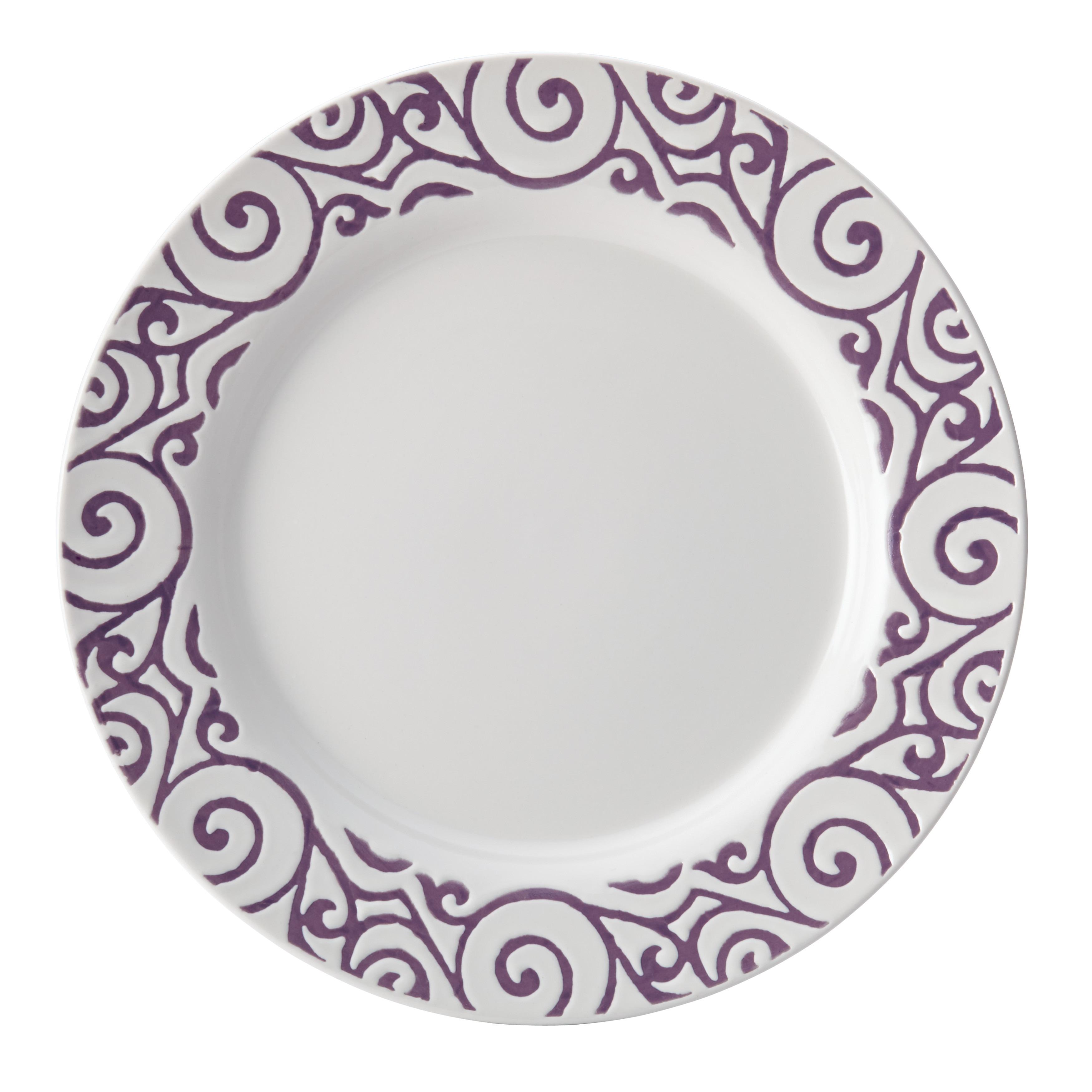 Shop Rachael Ray Dinnerware 16-Piece Scroll Stoneware Dinnerware Set ...