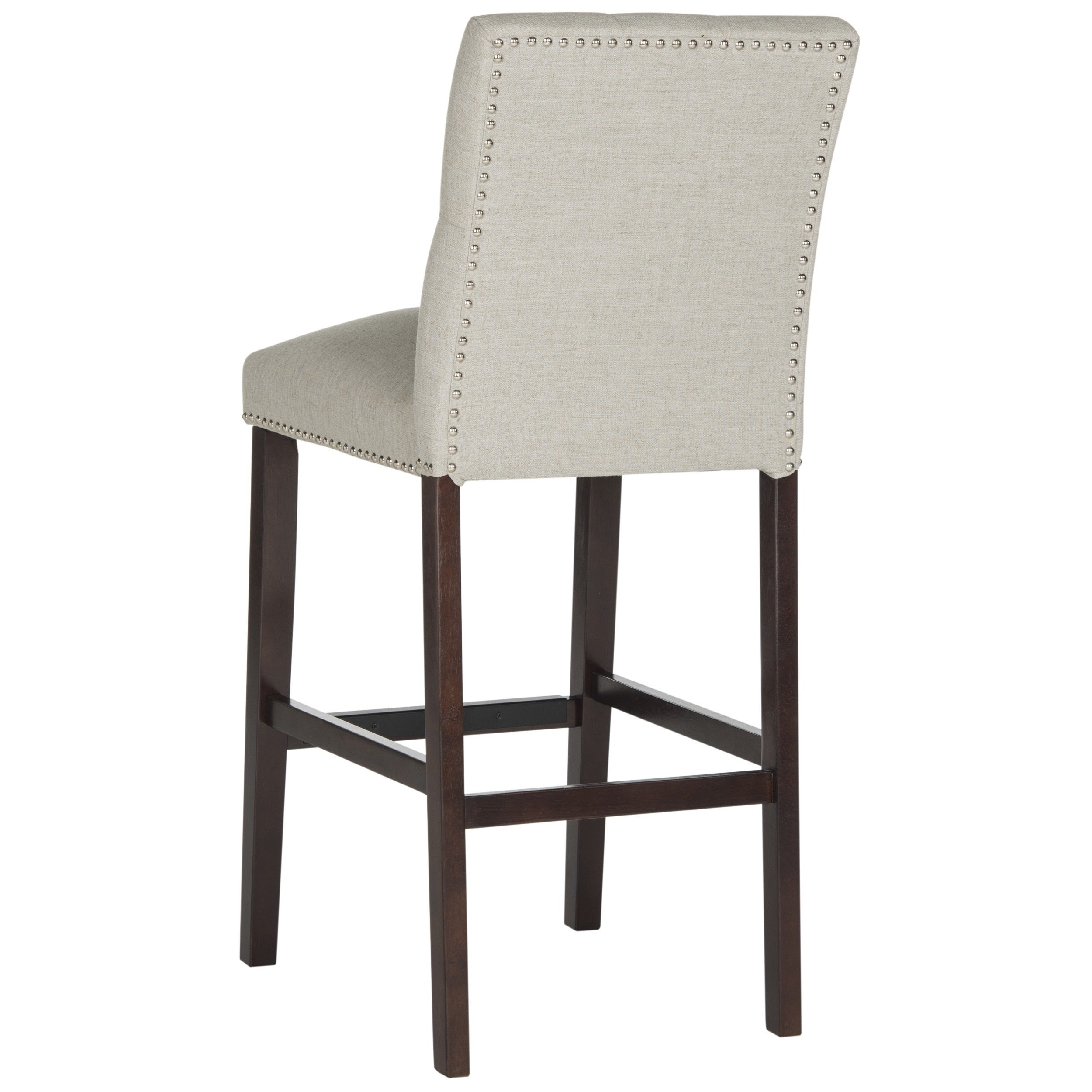 Safavieh Norah Light Grey Barstool Set Of 2 On Free Shipping Today 11391109