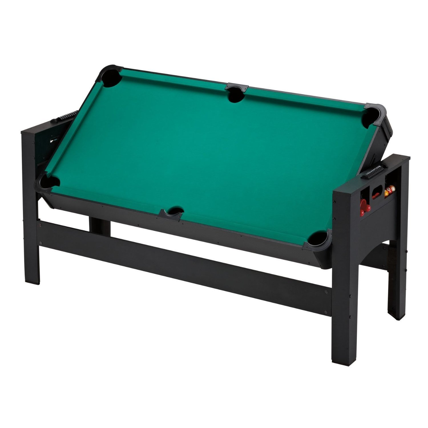 Shop Fat Cat Original 3 In 1 6 Foot Pockey Table Billiards/ Air Hockey/  Table Tennis Game   Black   Free Shipping Today   Overstock.com   11391413