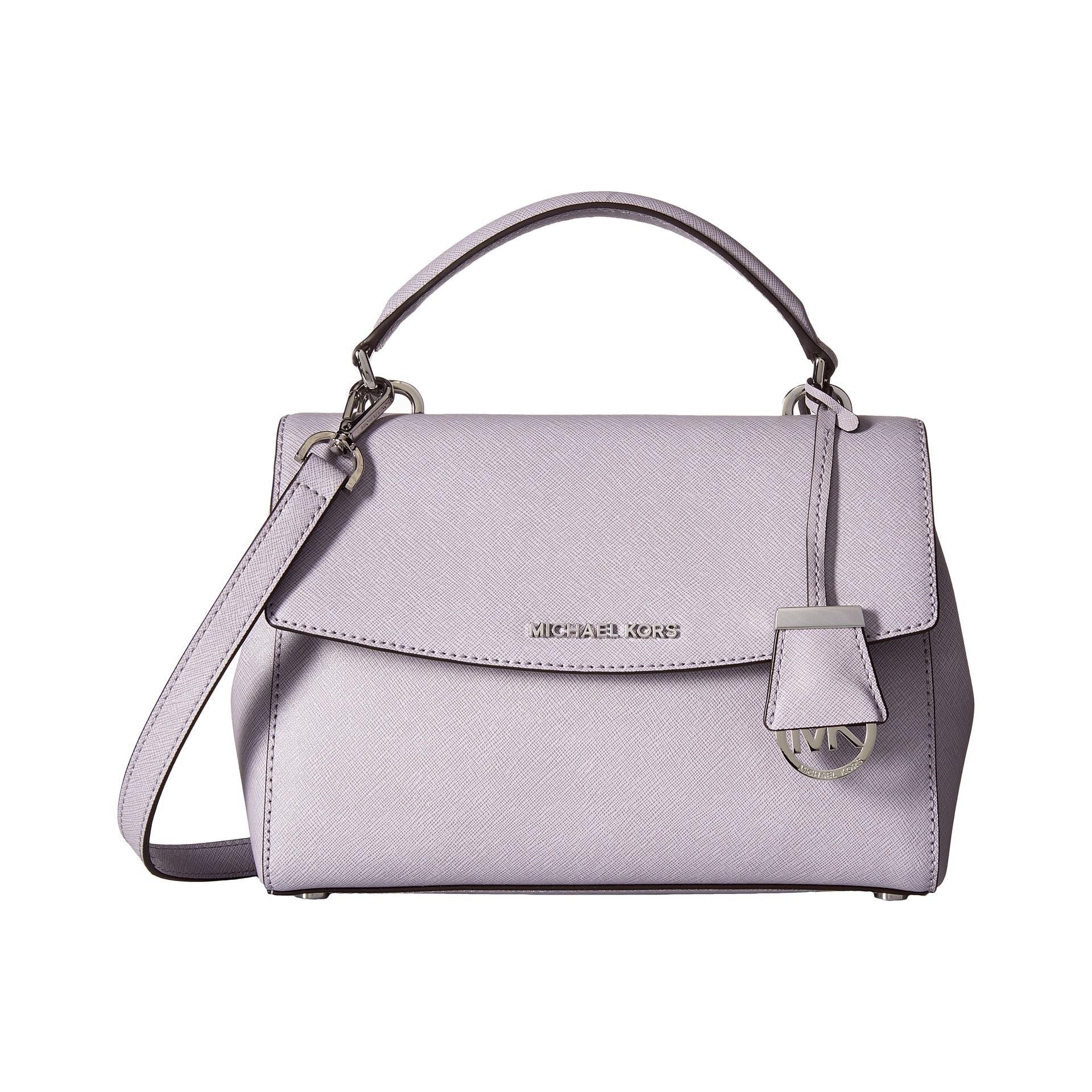 b8840627d65c Shop Michael Kors Ava Lilac Small Top Handle Satchel Handbag - Free  Shipping Today - Overstock - 11403800