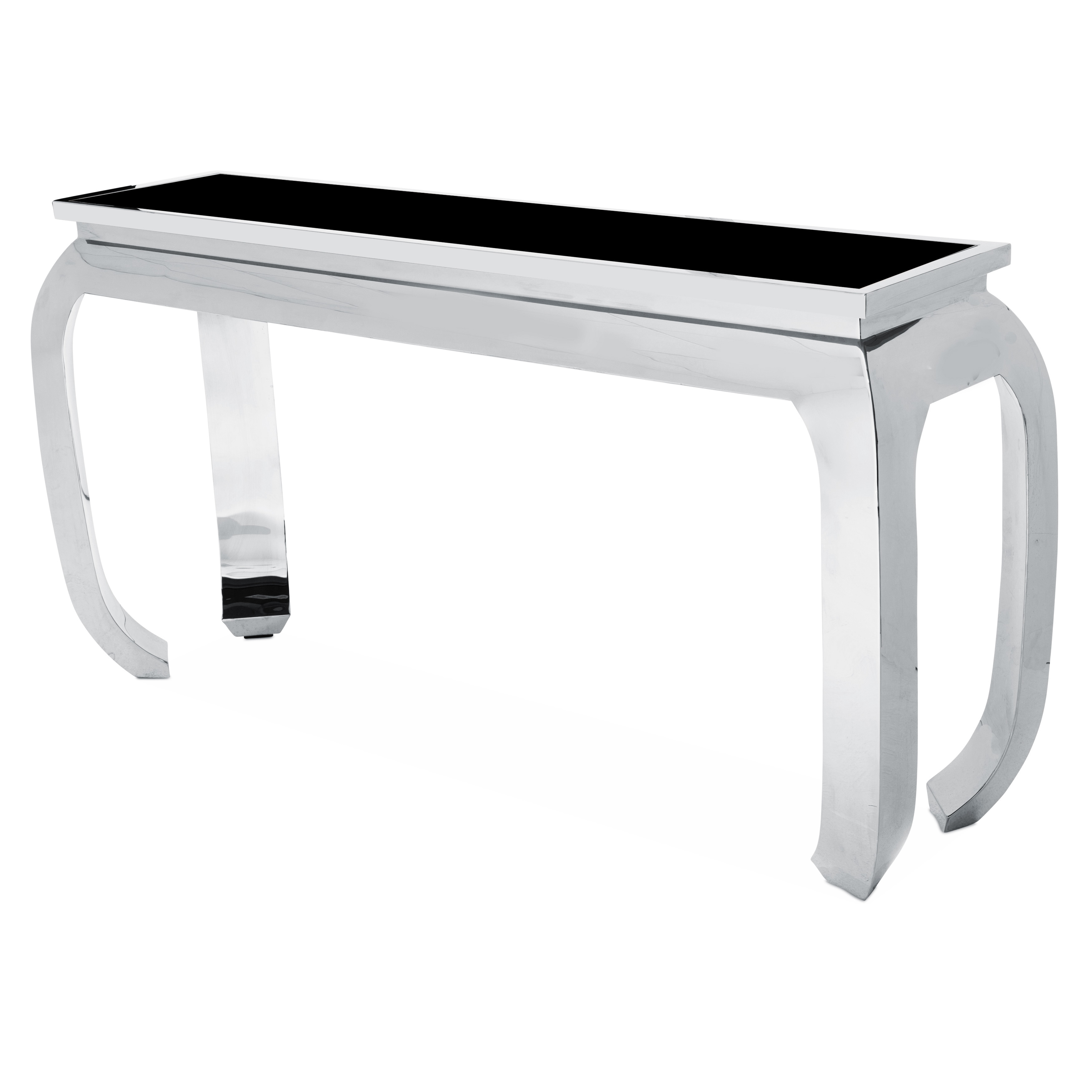 Pietro Console Table by Michael Amini Free Shipping Today