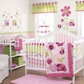 Belle Lil Lady Bug 3-piece Girl Crib Bedding Set