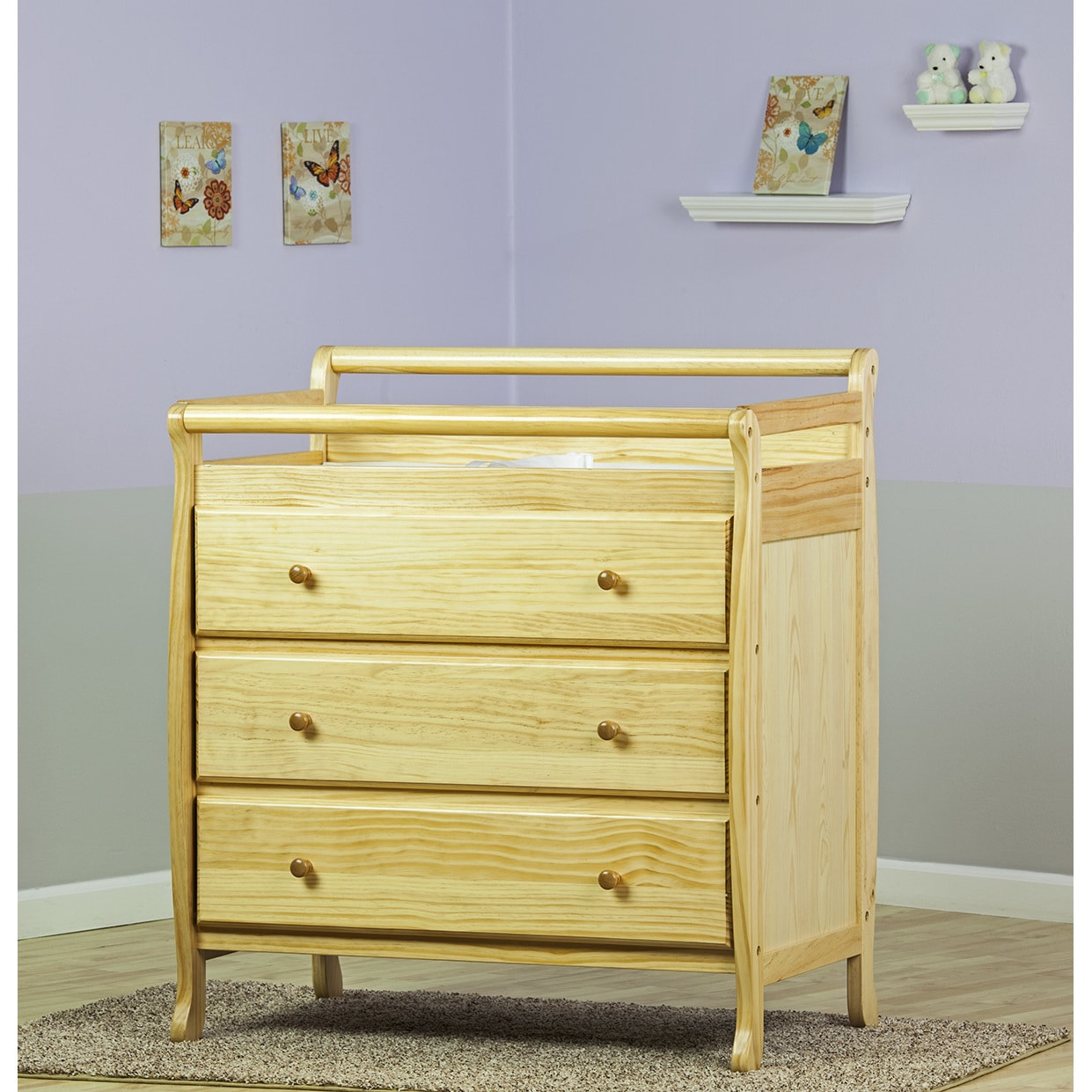 Shop Dream On Me, Liberty Collection 3 Drawer Changing Table   Free  Shipping Today   Overstock.com   11408363