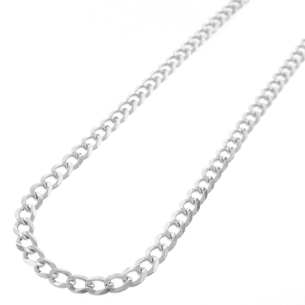 e4462112b Shop Authentic Solid Sterling Silver 5mm Cuban Curb Link .925 ITProLux  Necklace Chains 16