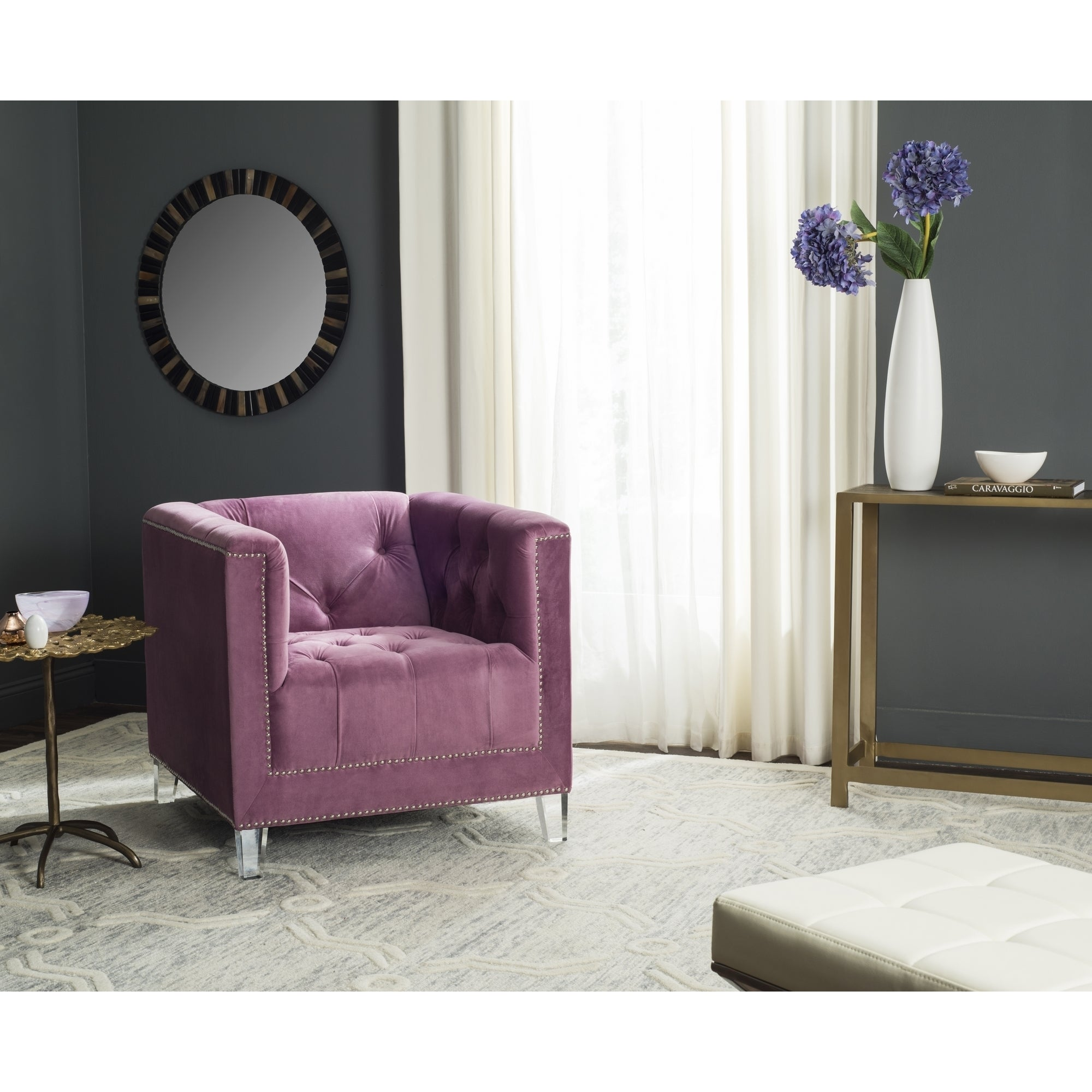 plum imports colette loveseat pier in zoom