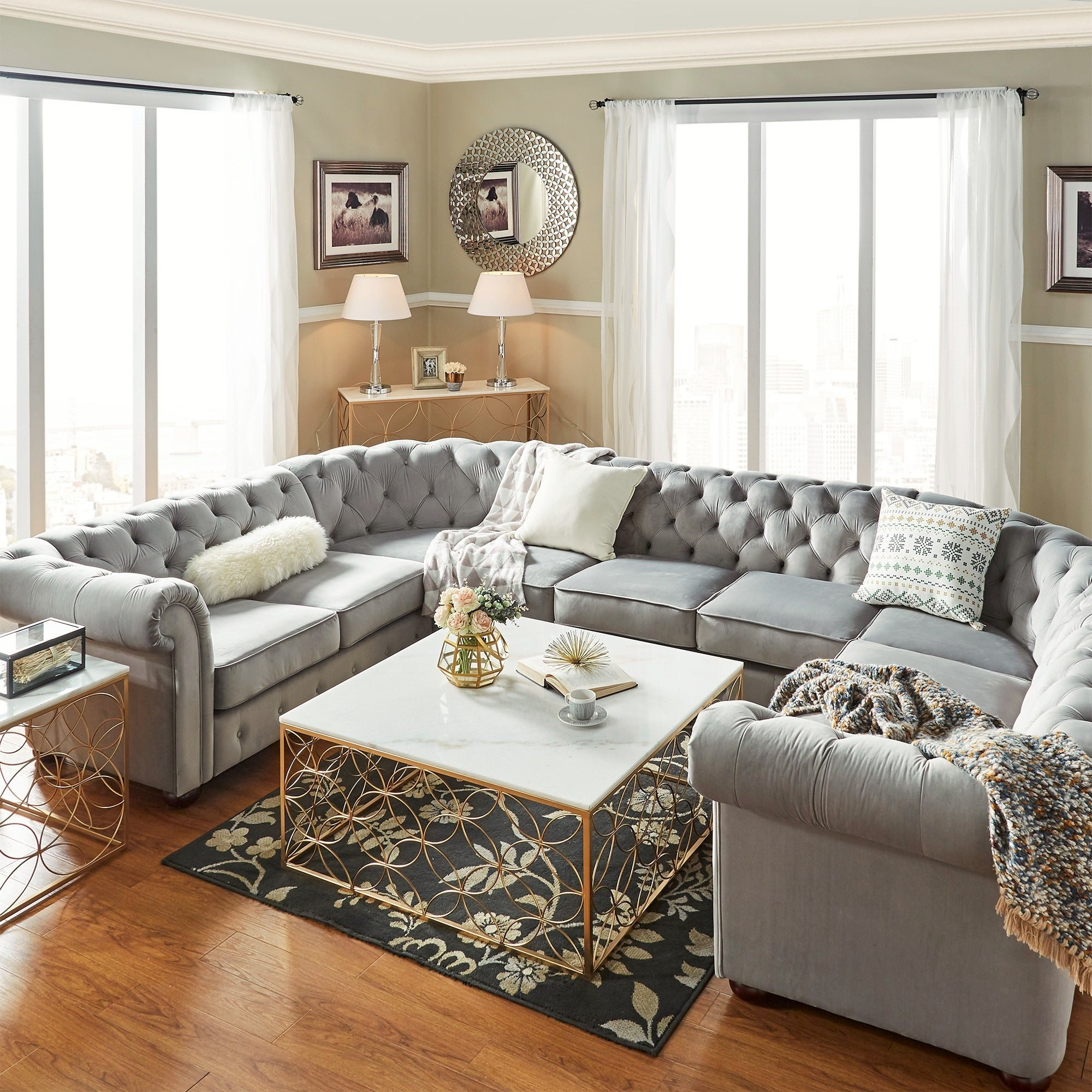 Separate Sectional Sofa