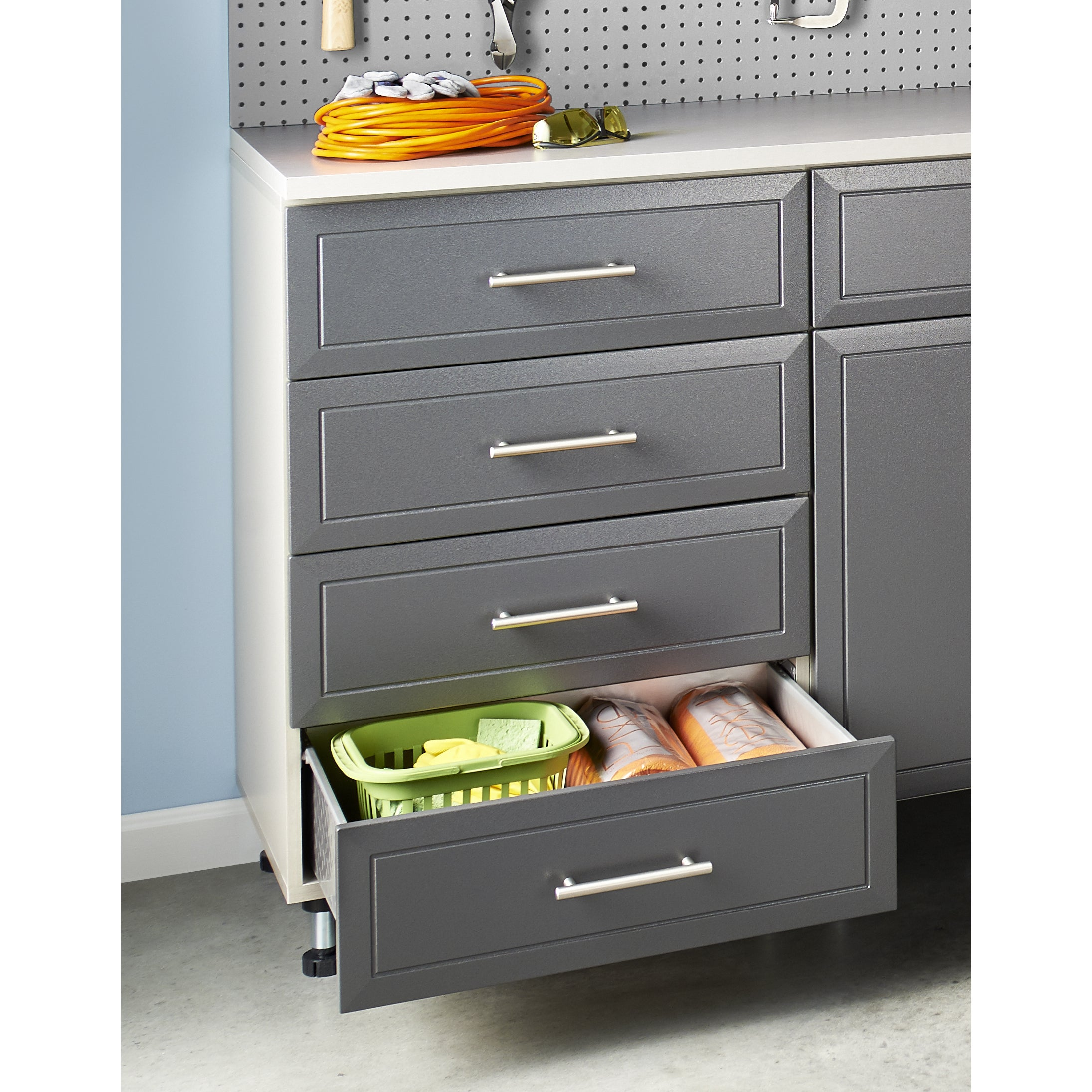 ClosetMaid ProGarage 4 Drawer Cabinet   Free Shipping Today   Overstock    18373919