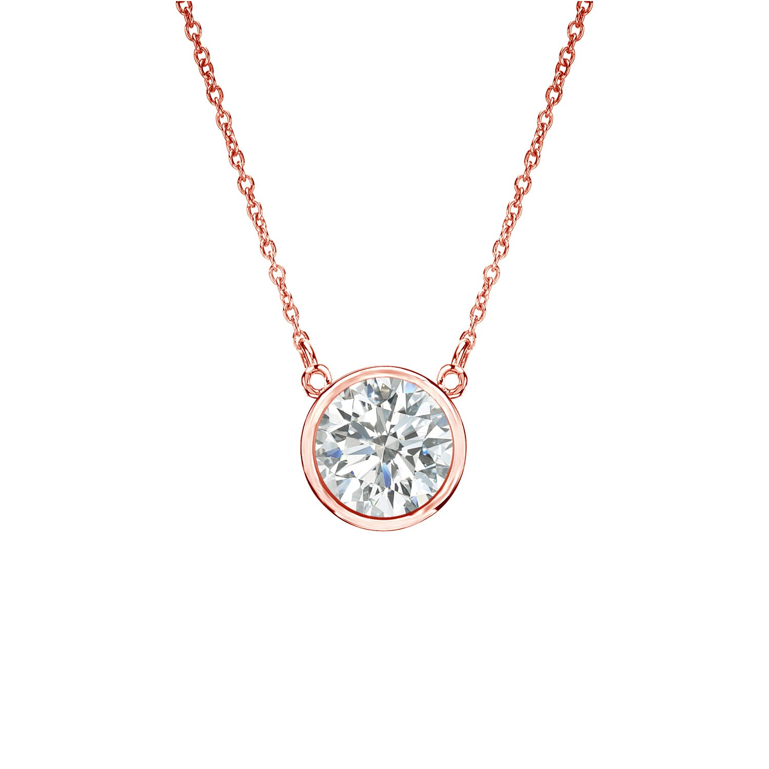jewelry brilliant category essentials pendants pendant kwiat solitaire diamond necklace plat round