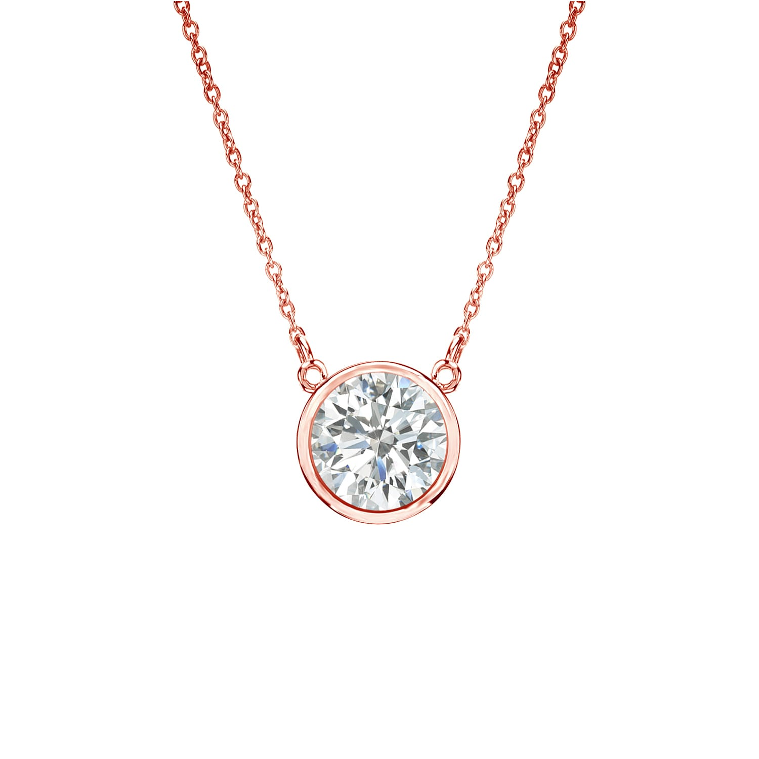 solitaire pendant degem forevermark pave diamond encordia necklace
