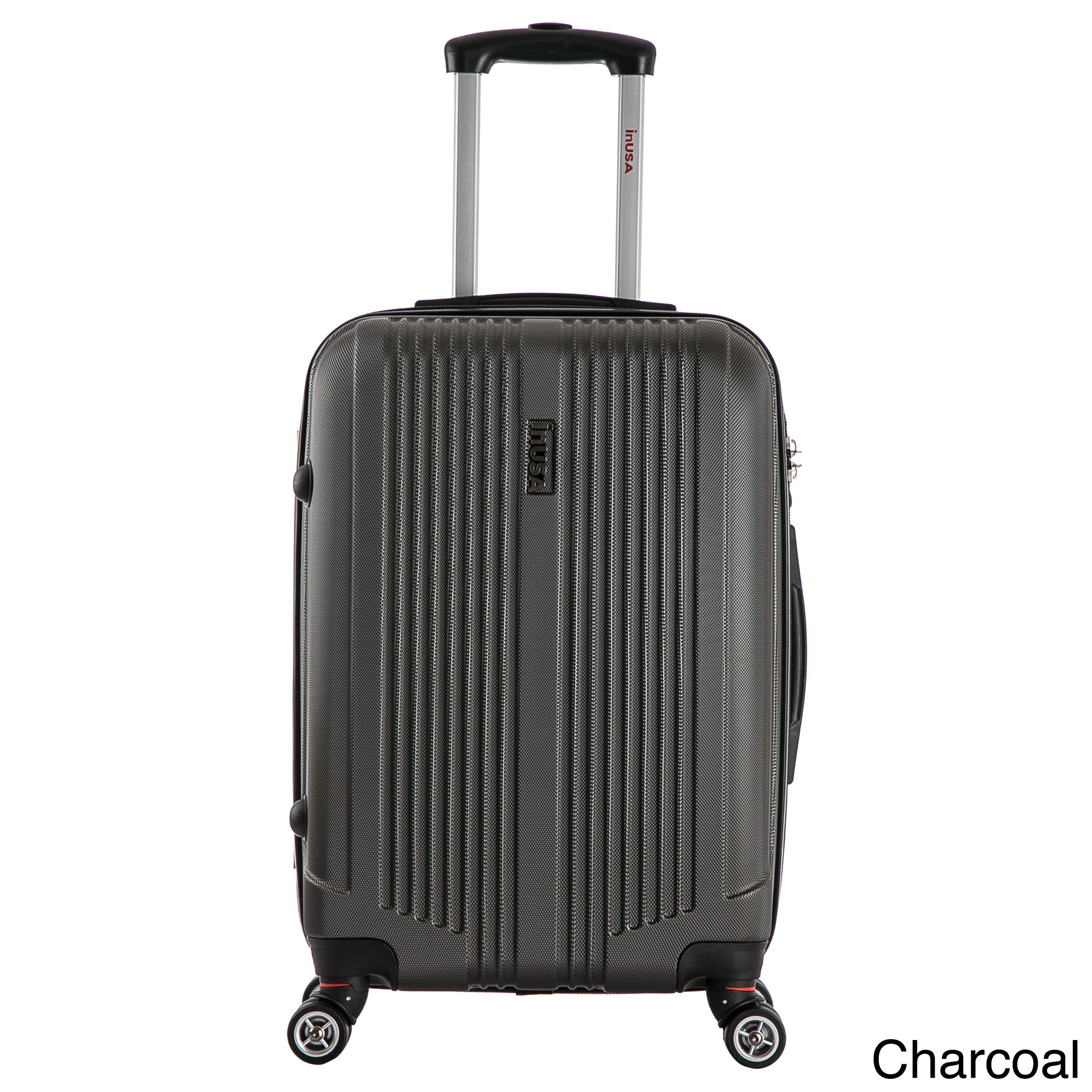 Shop InUSA San Francisco 18-inch Carry-on Lightweight Hardside Spinner Suitcase - Free Shipping Today - Overstock.com - 11413778