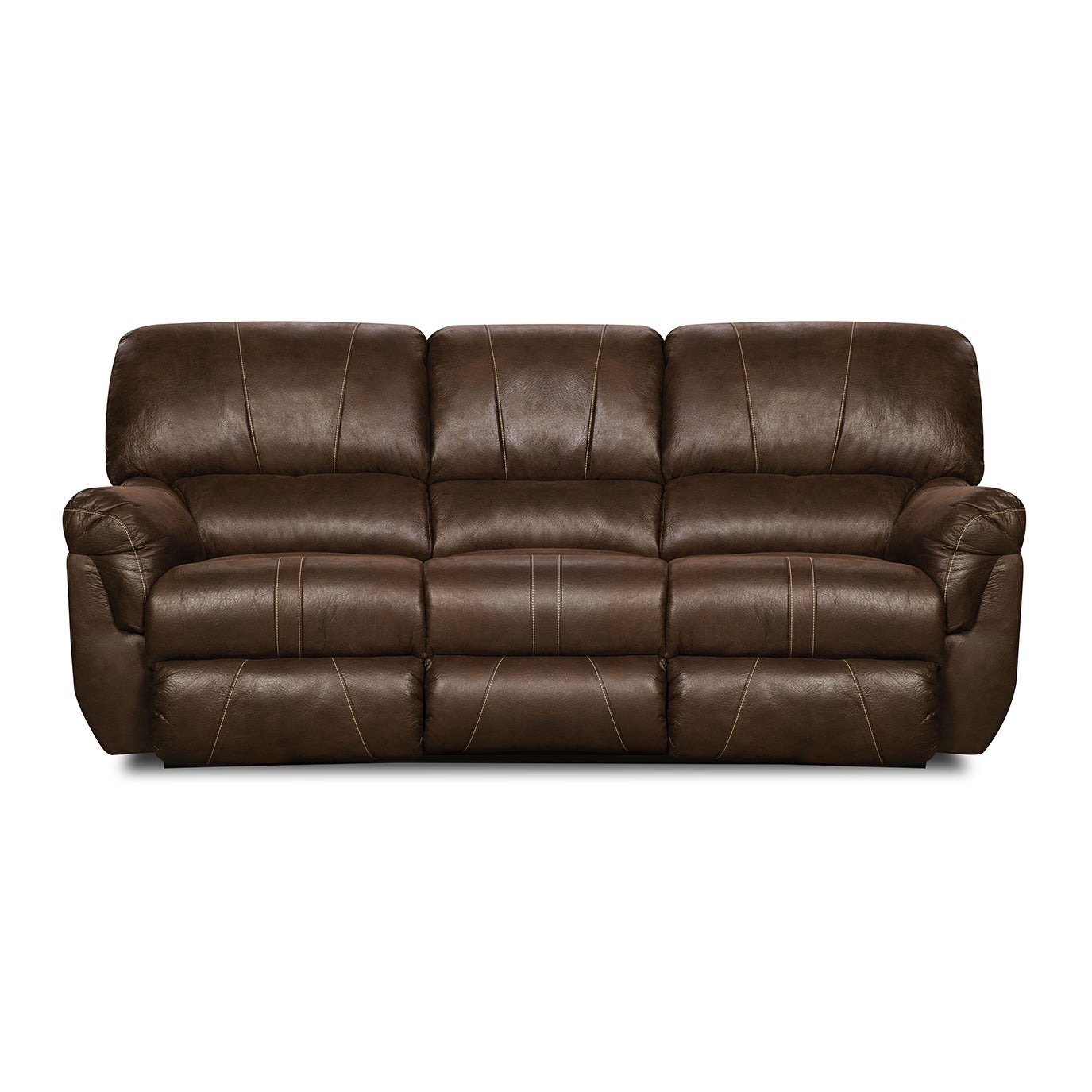 Simmons Upholstery Renegade Mocha Beautyrest Motion Sofa   Free Shipping  Today   Overstock   18378036