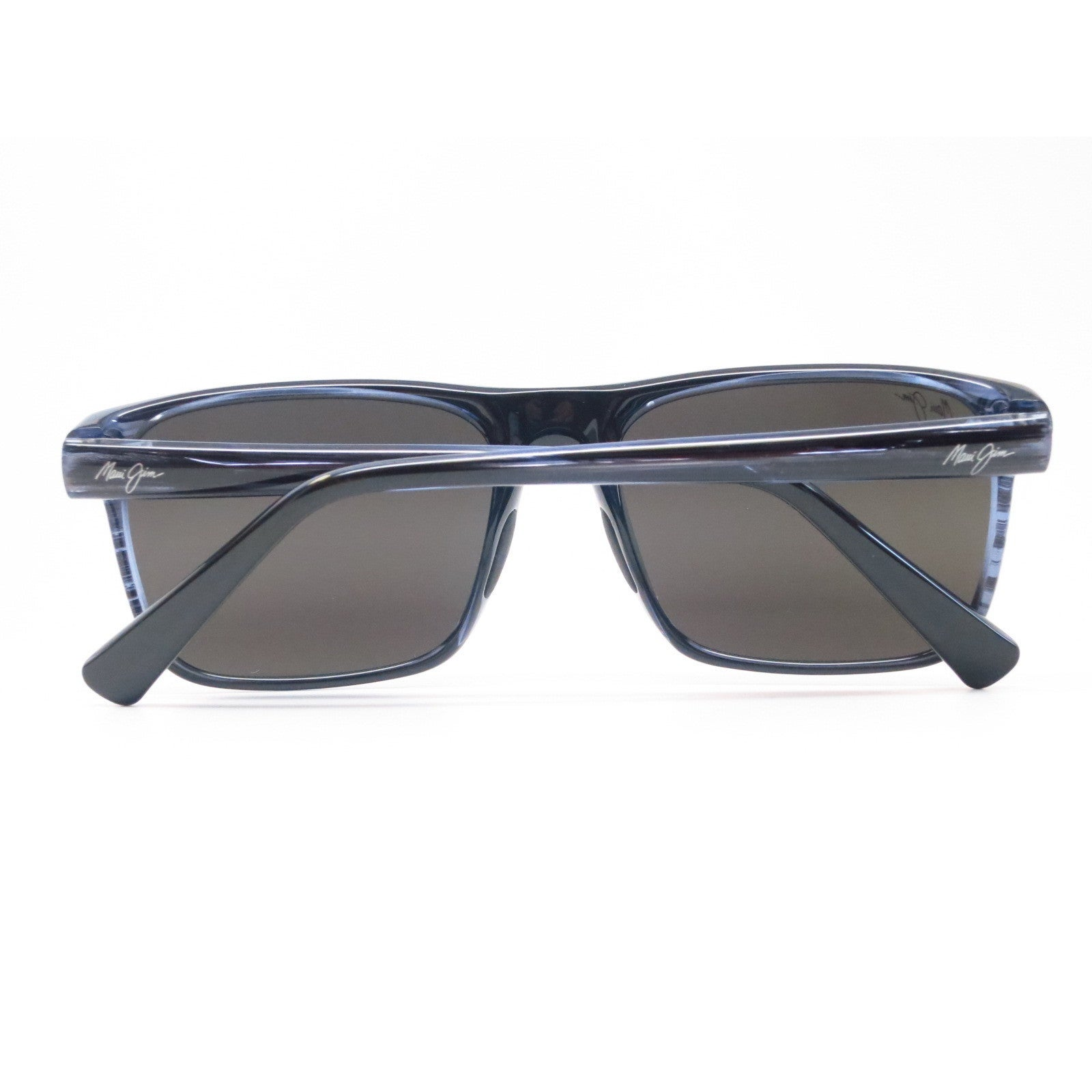fac968b72bc Shop Maui Jim 705-03S Flat Island Blue Stripe Frame Polarized Neutral Grey  58mm Lens Sunglasses - Free Shipping Today - Overstock - 11416803