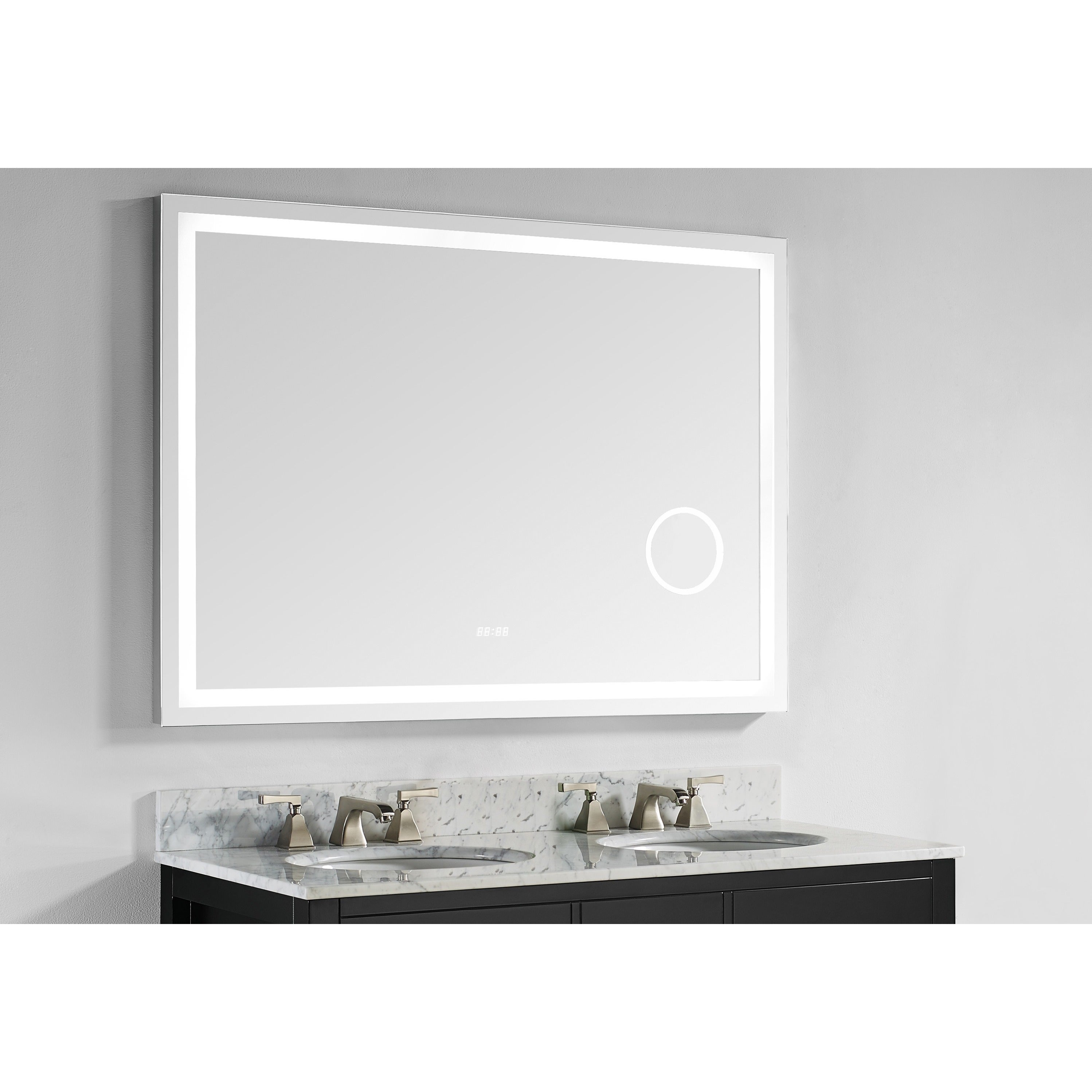 Shop Innoci-USA Eros LED Wall Mount Lighted Vanity Mirror Featuring ...