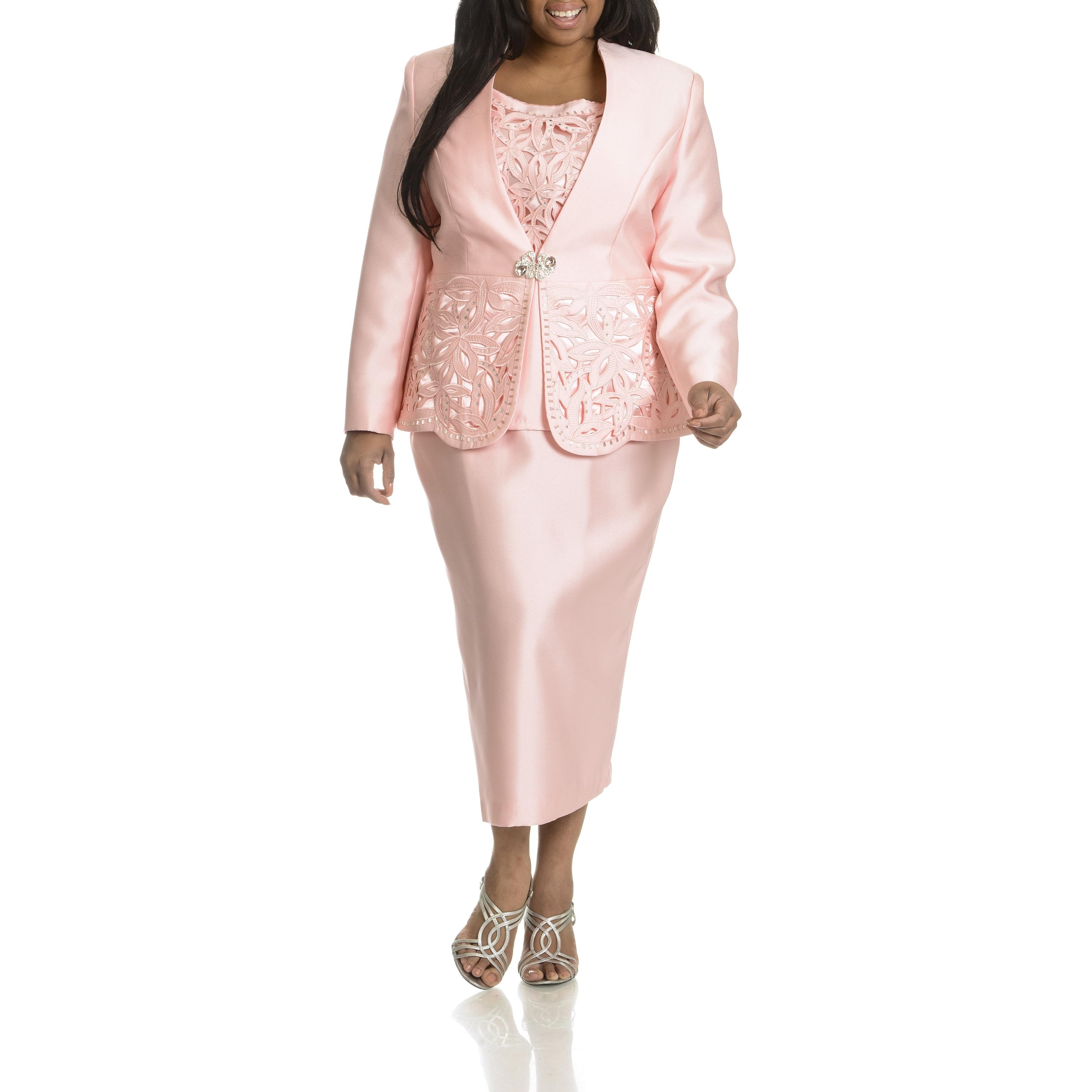 Shop Giovanna Collection Women S Plus Size Cut Out Detail 3 Piece