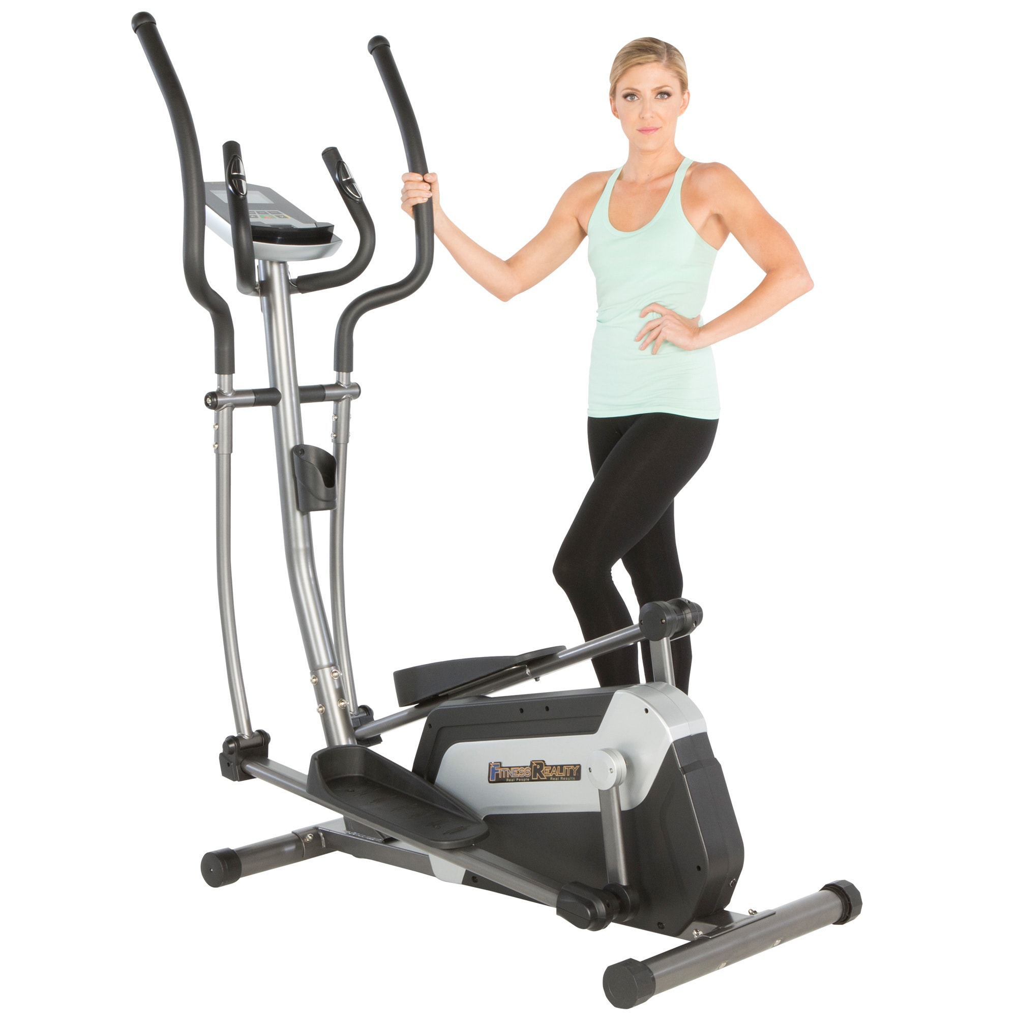 mat trainer itm exercise elliptical bike hybrid cardio pro mats proform resource crossover floor